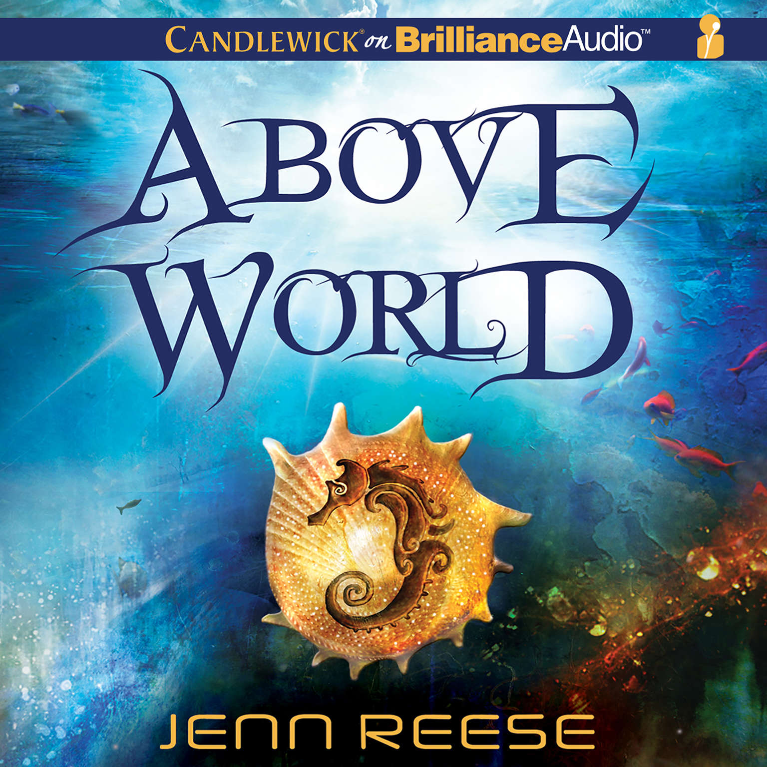 Printable Above World Audiobook Cover Art
