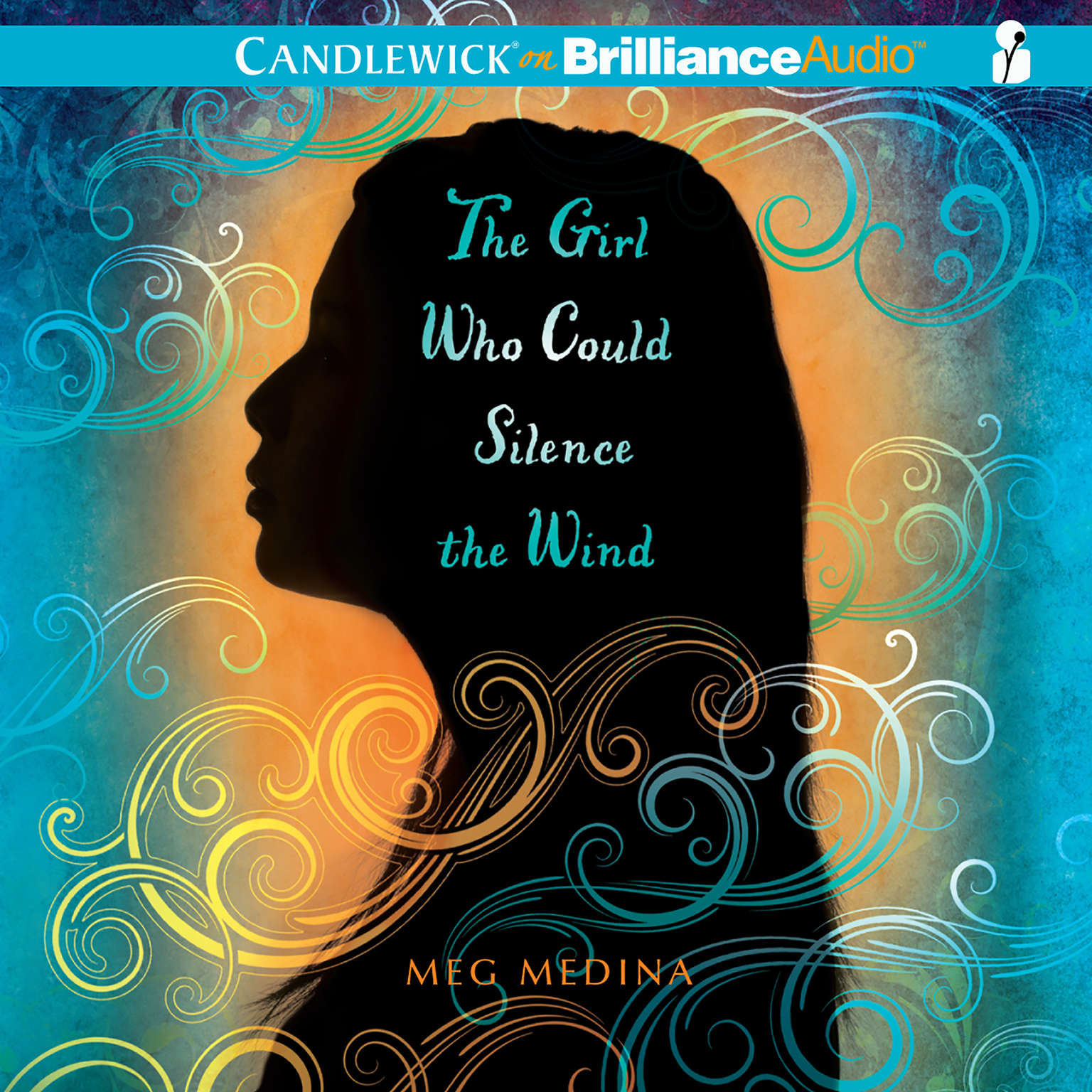 Printable The Girl Who Could Silence the Wind Audiobook Cover Art