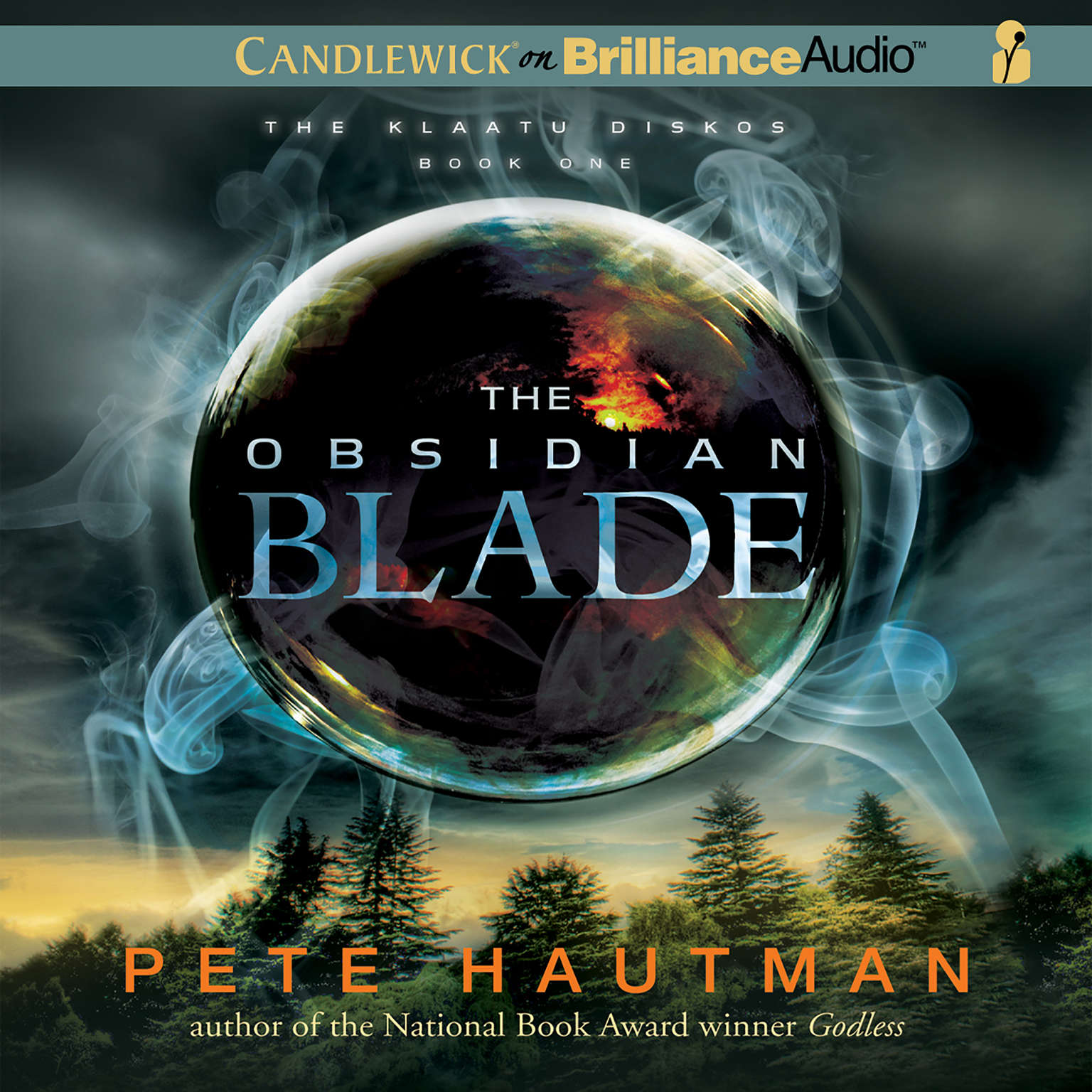Printable The Obsidian Blade Audiobook Cover Art
