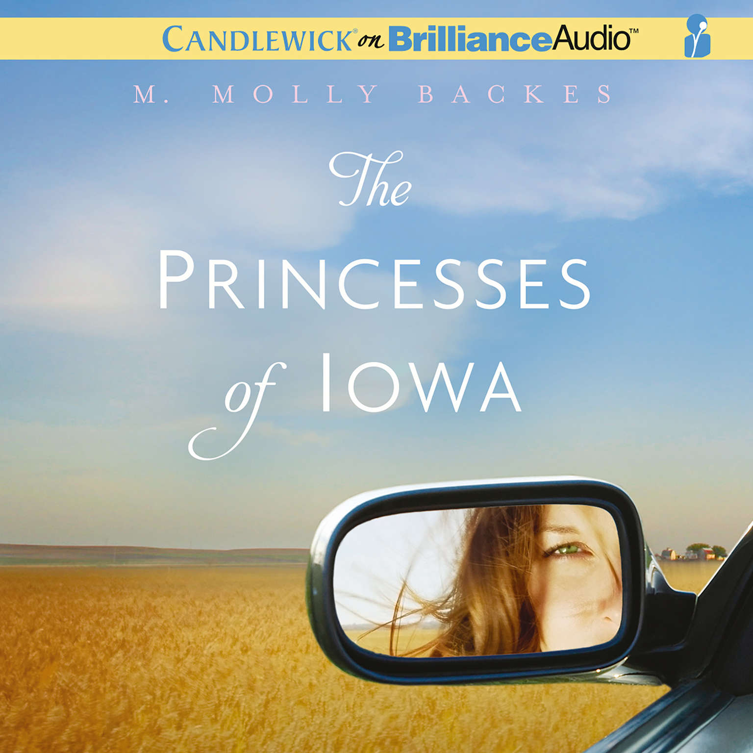 Printable The Princesses of Iowa Audiobook Cover Art