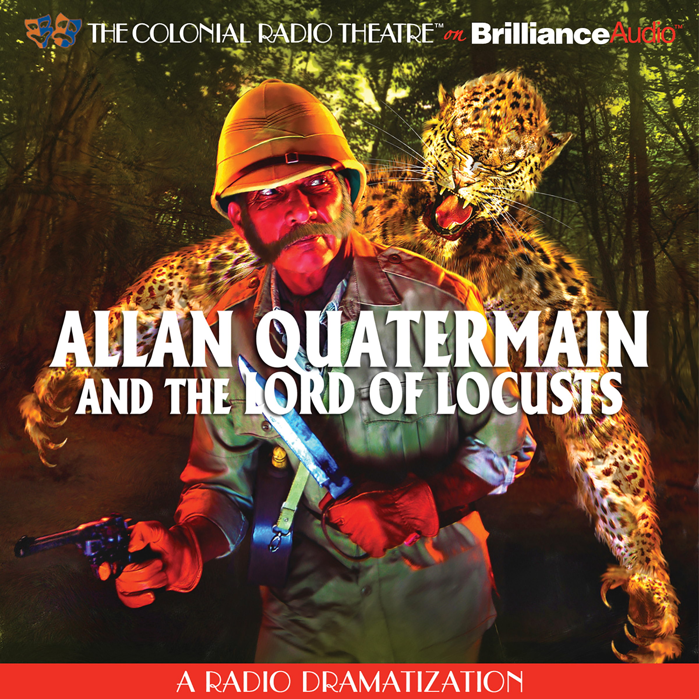 Printable Allan Quatermain: And the Lord of Locusts Audiobook Cover Art
