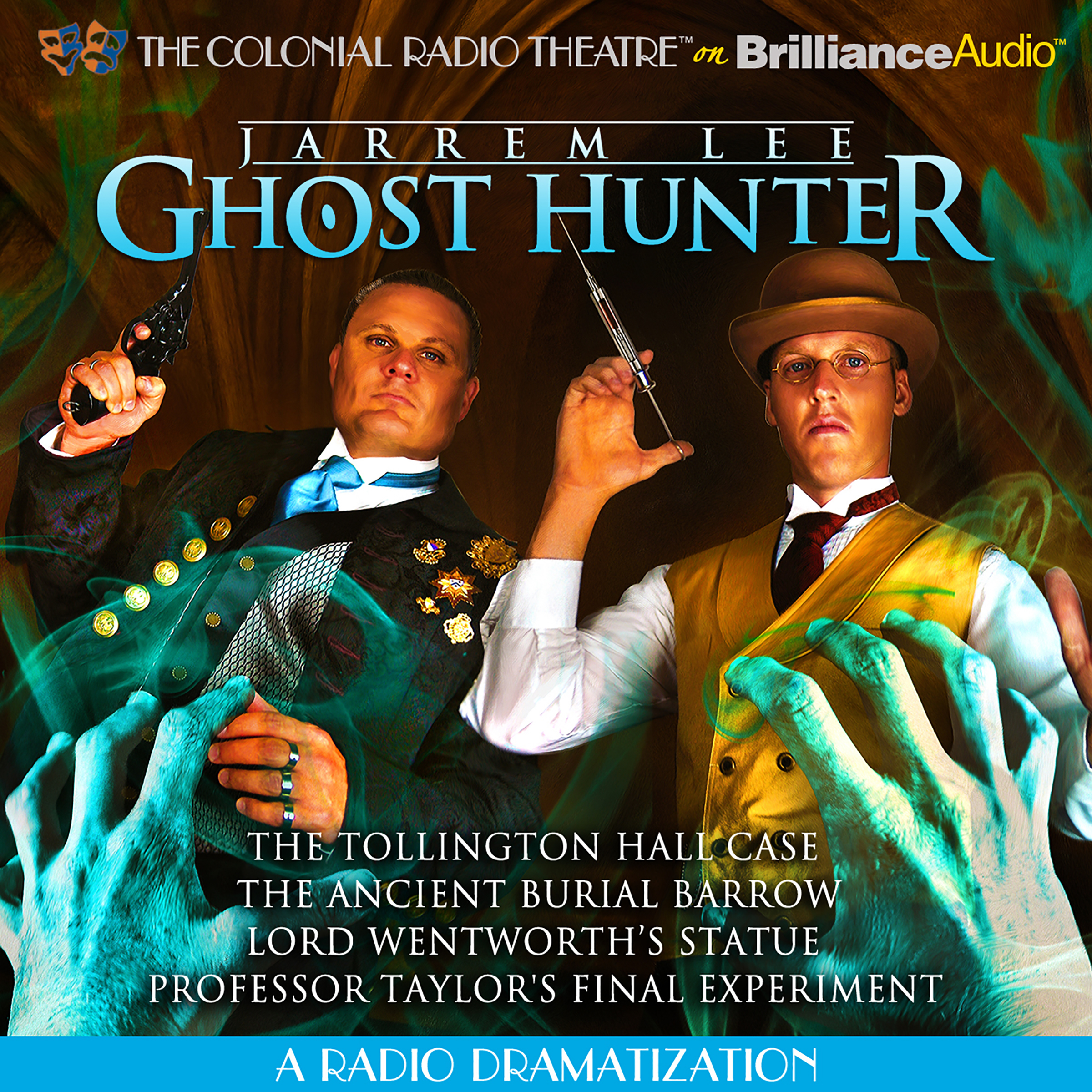 Printable Jarrem Lee, Ghost Hunter, Vol. 1: A Radio Dramatization Audiobook Cover Art