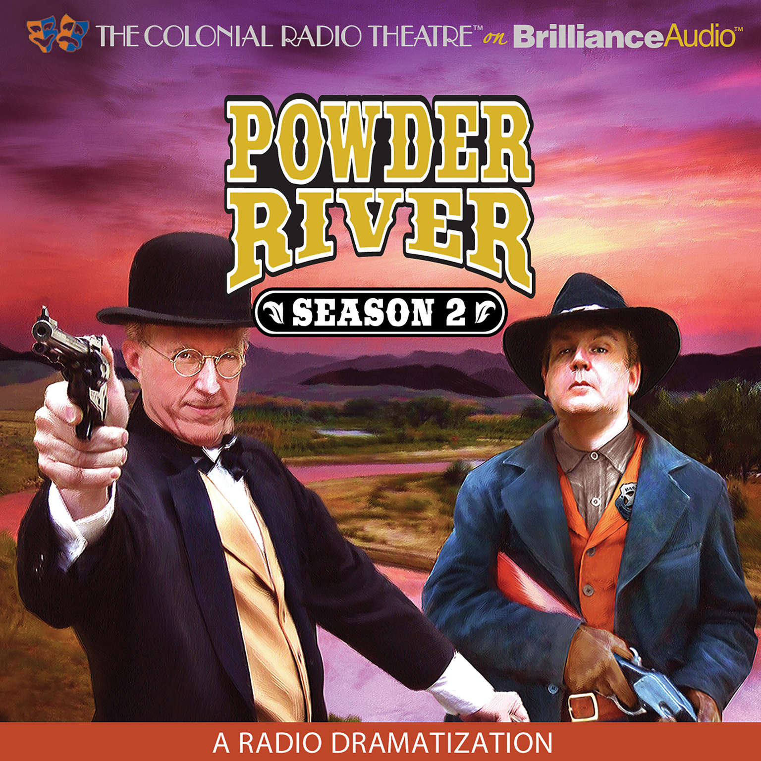 Printable Powder River, Season Two: A Radio Dramatization Audiobook Cover Art
