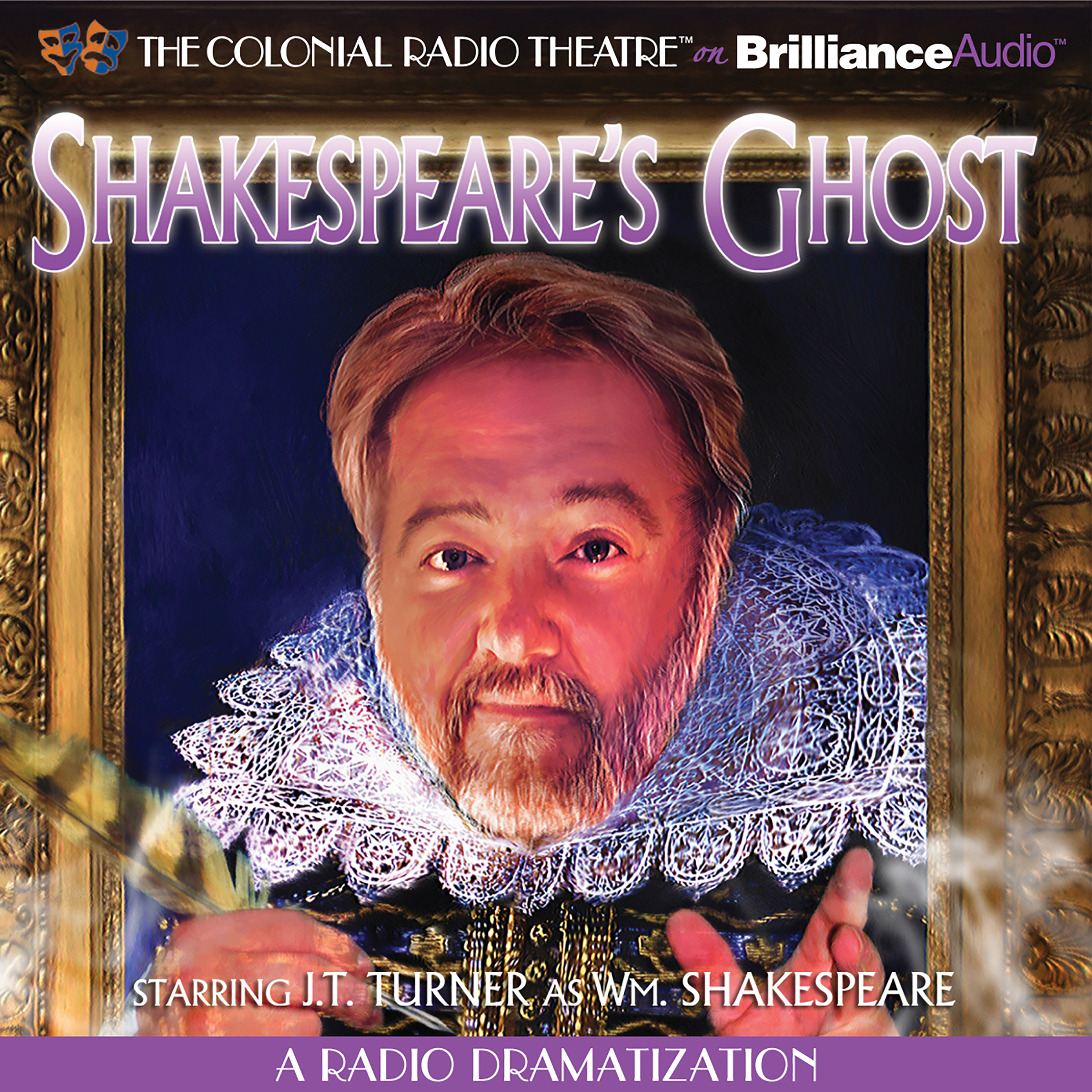 Printable Shakespeare's Ghost: A Radio Dramatization Audiobook Cover Art