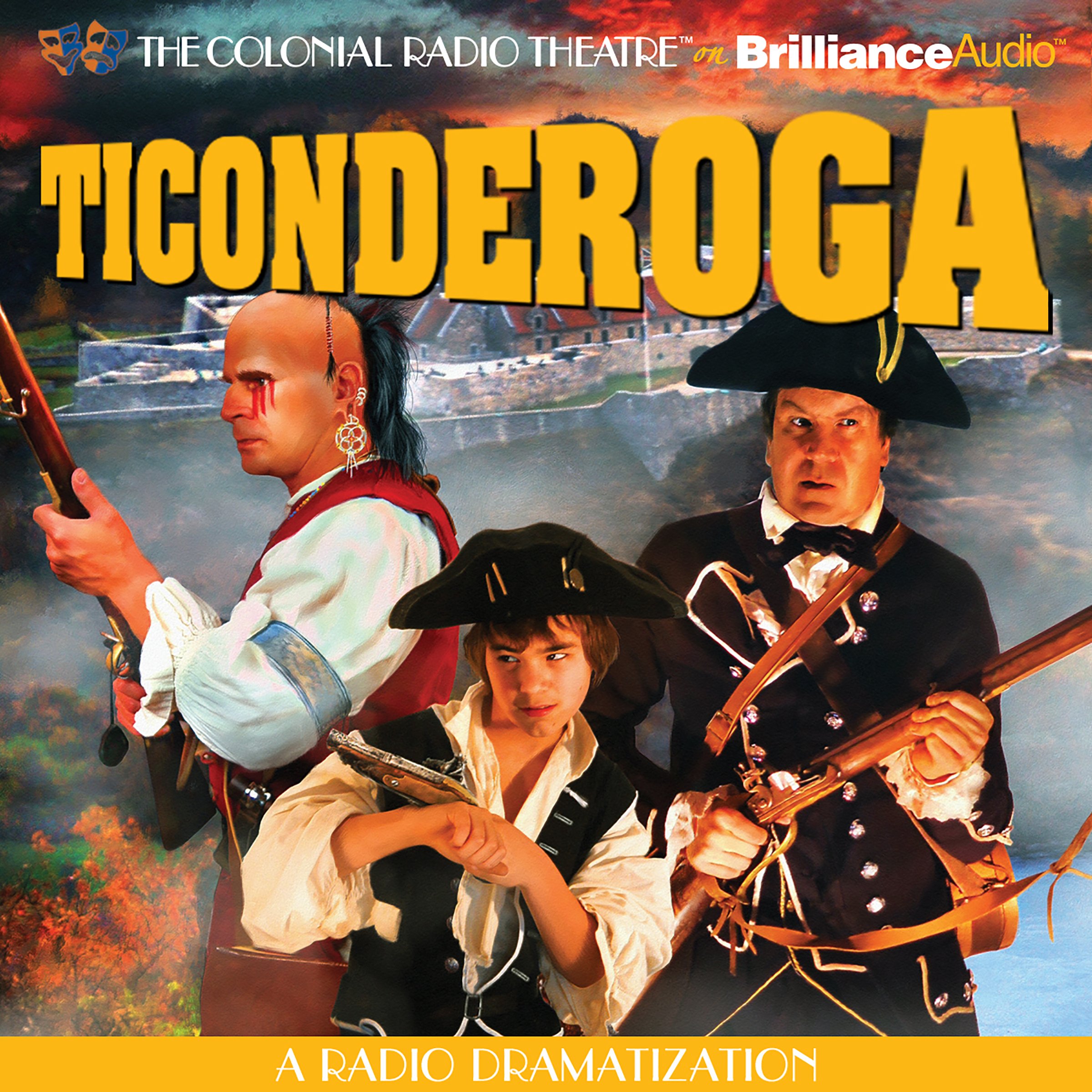 Printable Ticonderoga: A Radio Dramatization Audiobook Cover Art