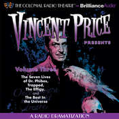Vincent Price Presents, Vol. 3: Four Radio Dramatizations Audiobook, by M. J. Elliott, Jack J. Ward, Deniz Cordell