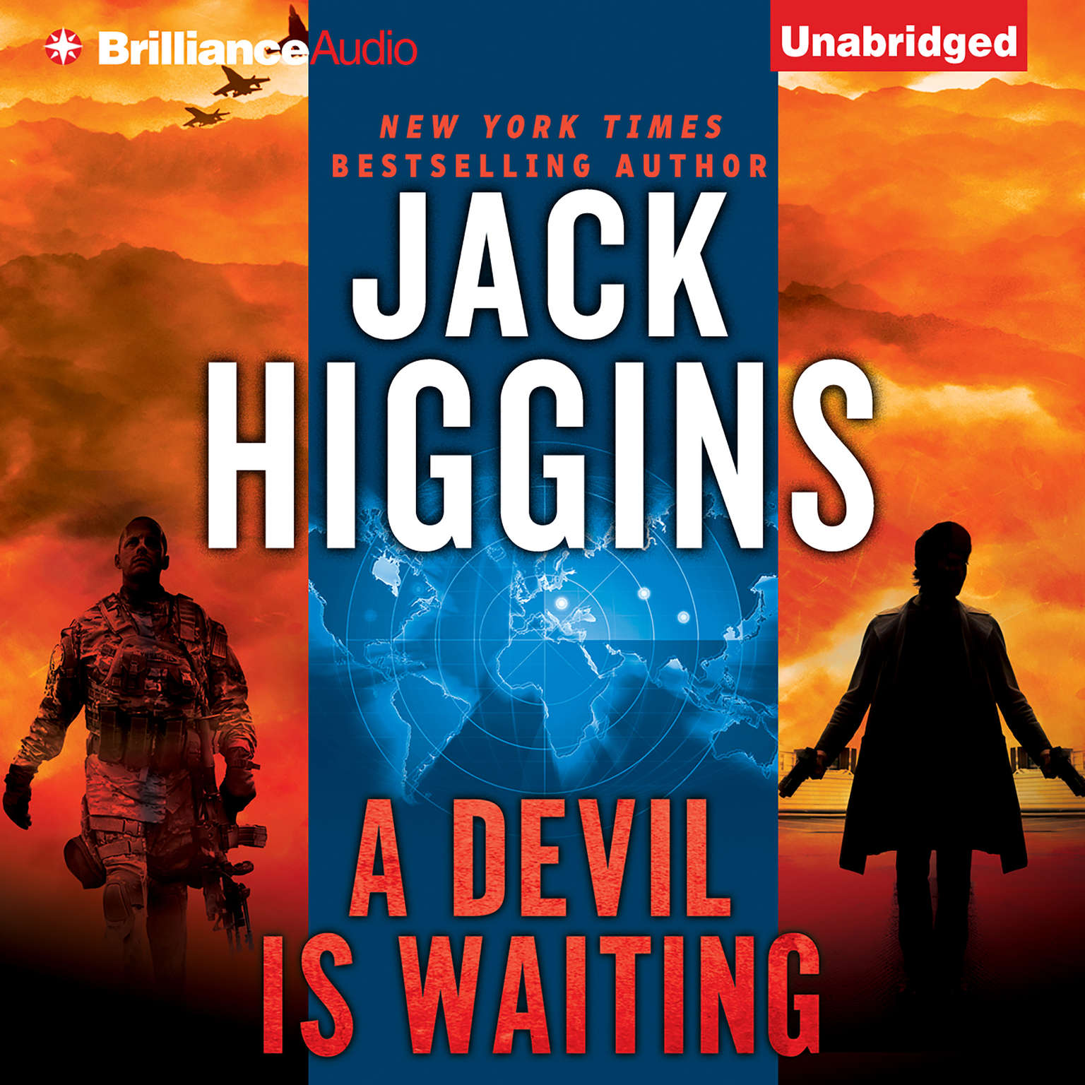 Printable A Devil is Waiting Audiobook Cover Art