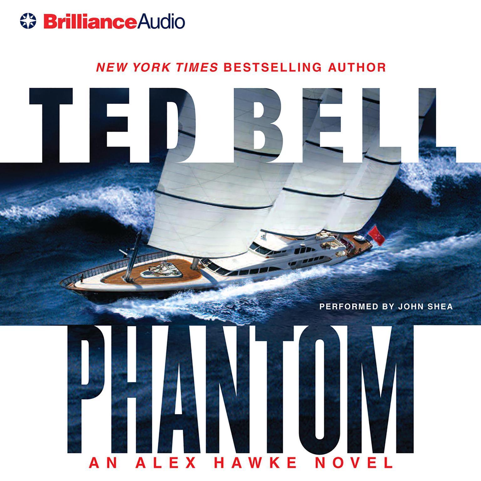 Printable Phantom Audiobook Cover Art