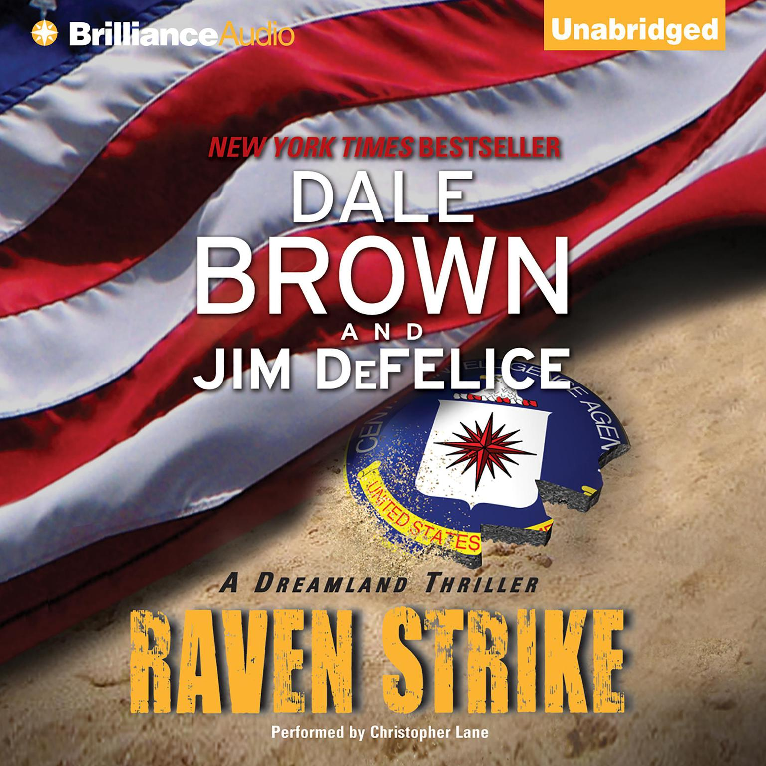 Printable Raven Strike Audiobook Cover Art