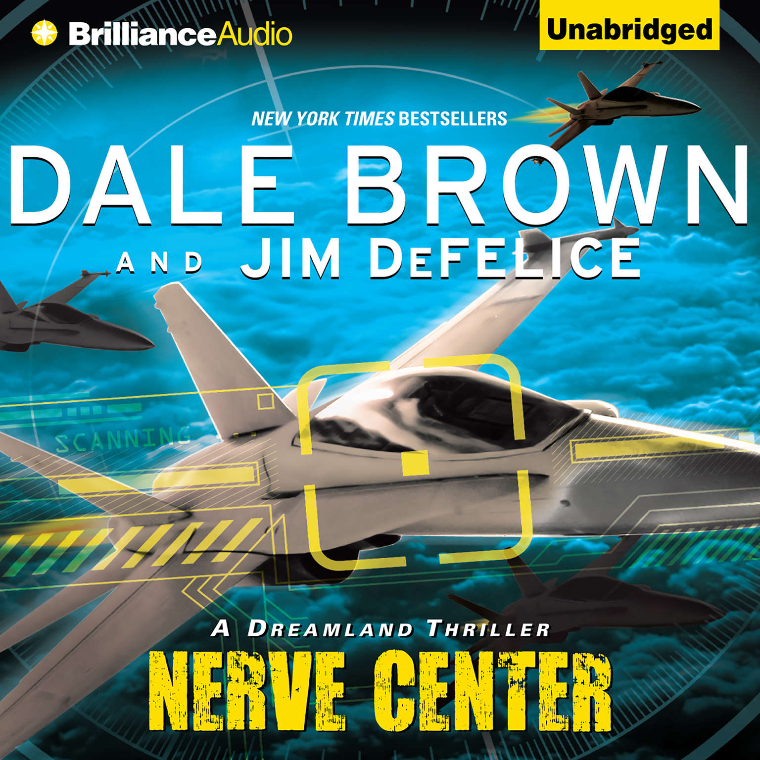 Printable Nerve Center Audiobook Cover Art