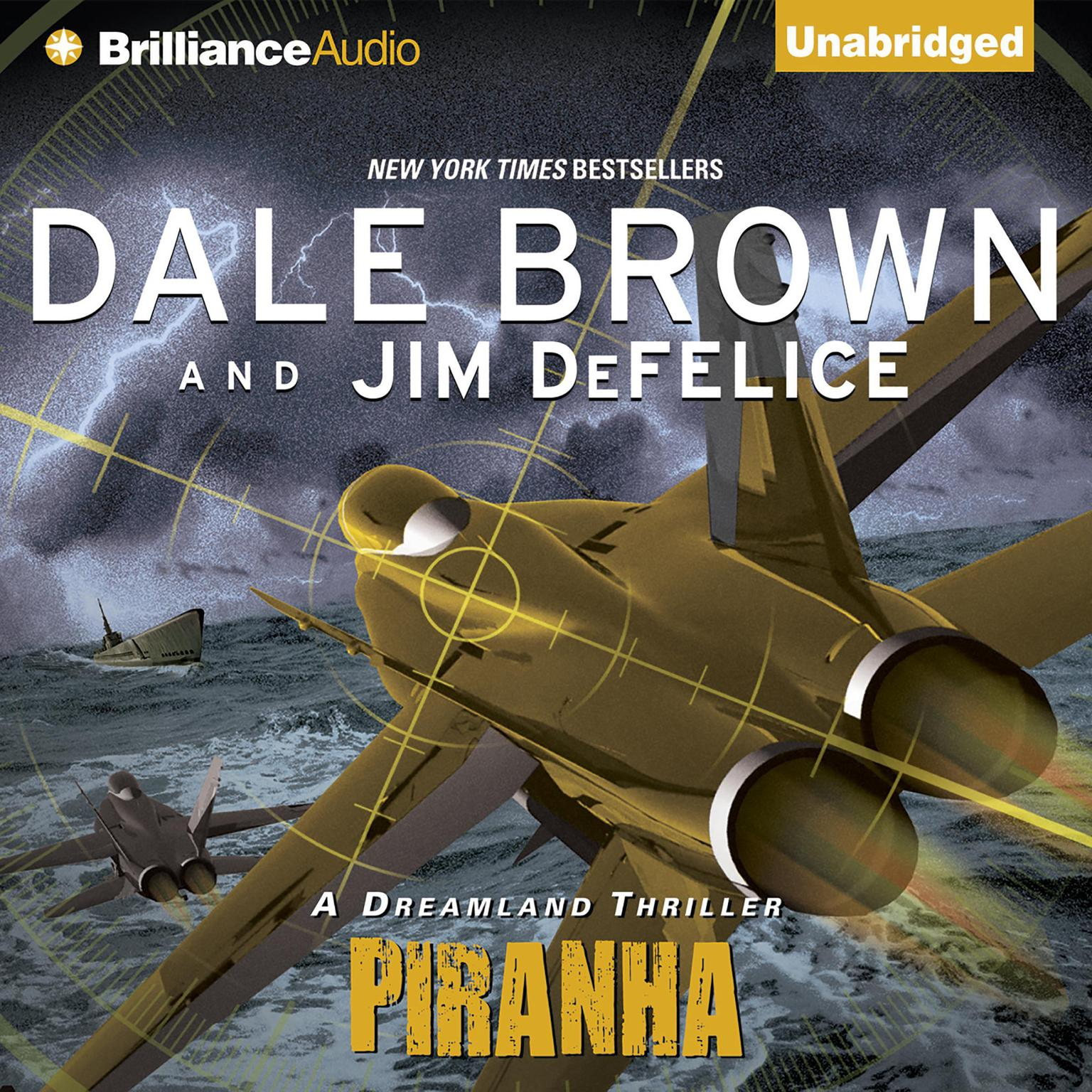 Printable Piranha Audiobook Cover Art