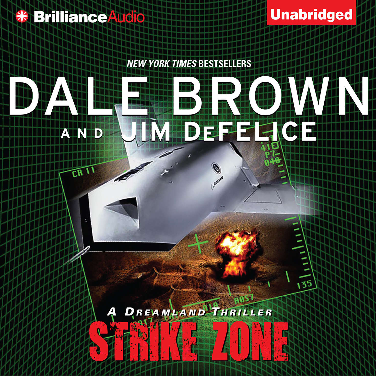 Printable Strike Zone: A Dreamland Thriller Audiobook Cover Art