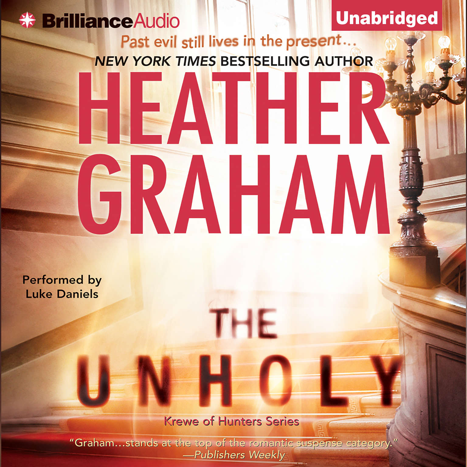 Printable The Unholy Audiobook Cover Art
