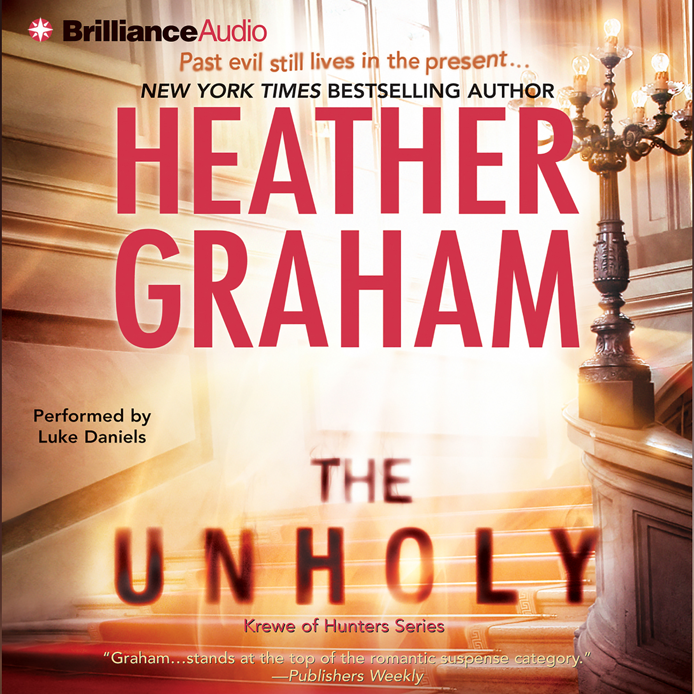 Printable The Unholy (Abridged) Audiobook Cover Art