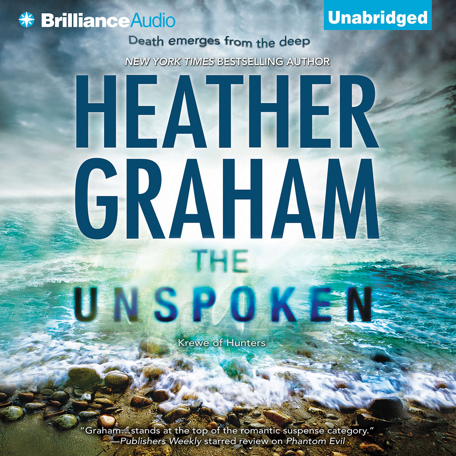 Printable The Unspoken Audiobook Cover Art