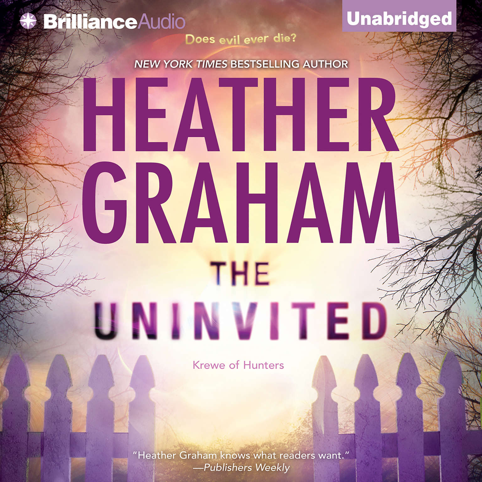 Printable The Uninvited Audiobook Cover Art
