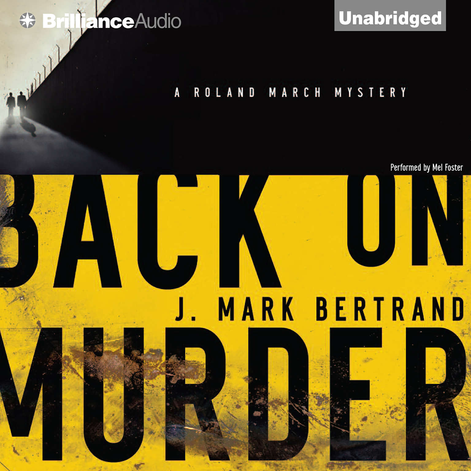 Printable Back on Murder Audiobook Cover Art