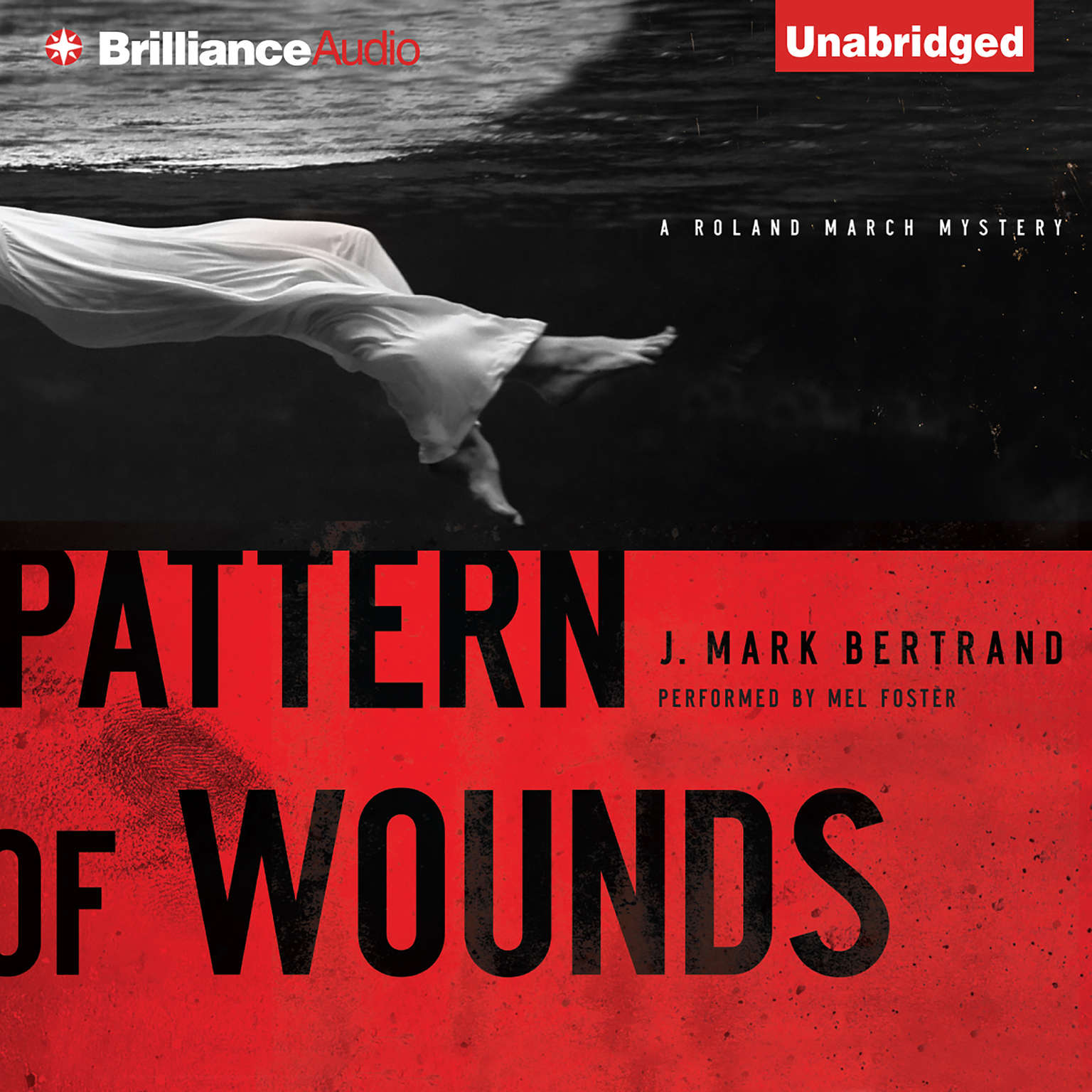Printable Pattern of Wounds Audiobook Cover Art