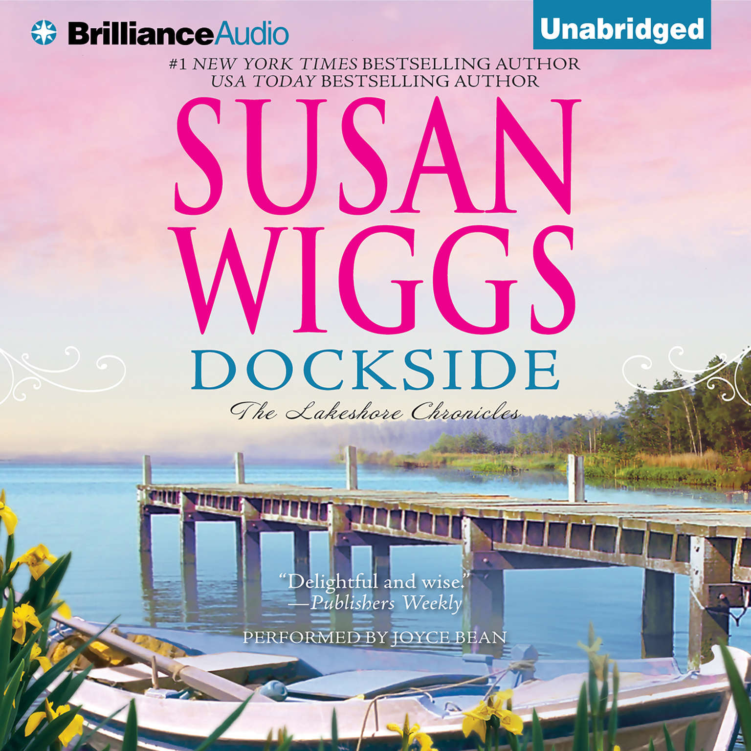 Printable Dockside Audiobook Cover Art