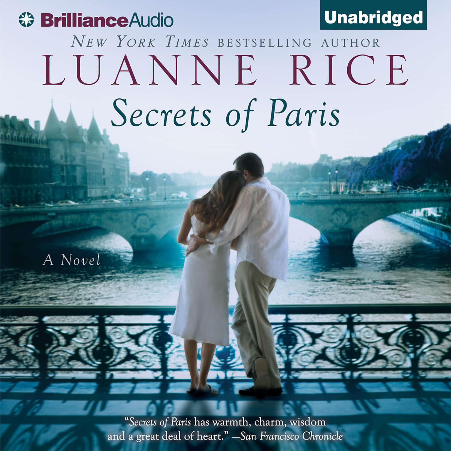 Printable Secrets of Paris Audiobook Cover Art