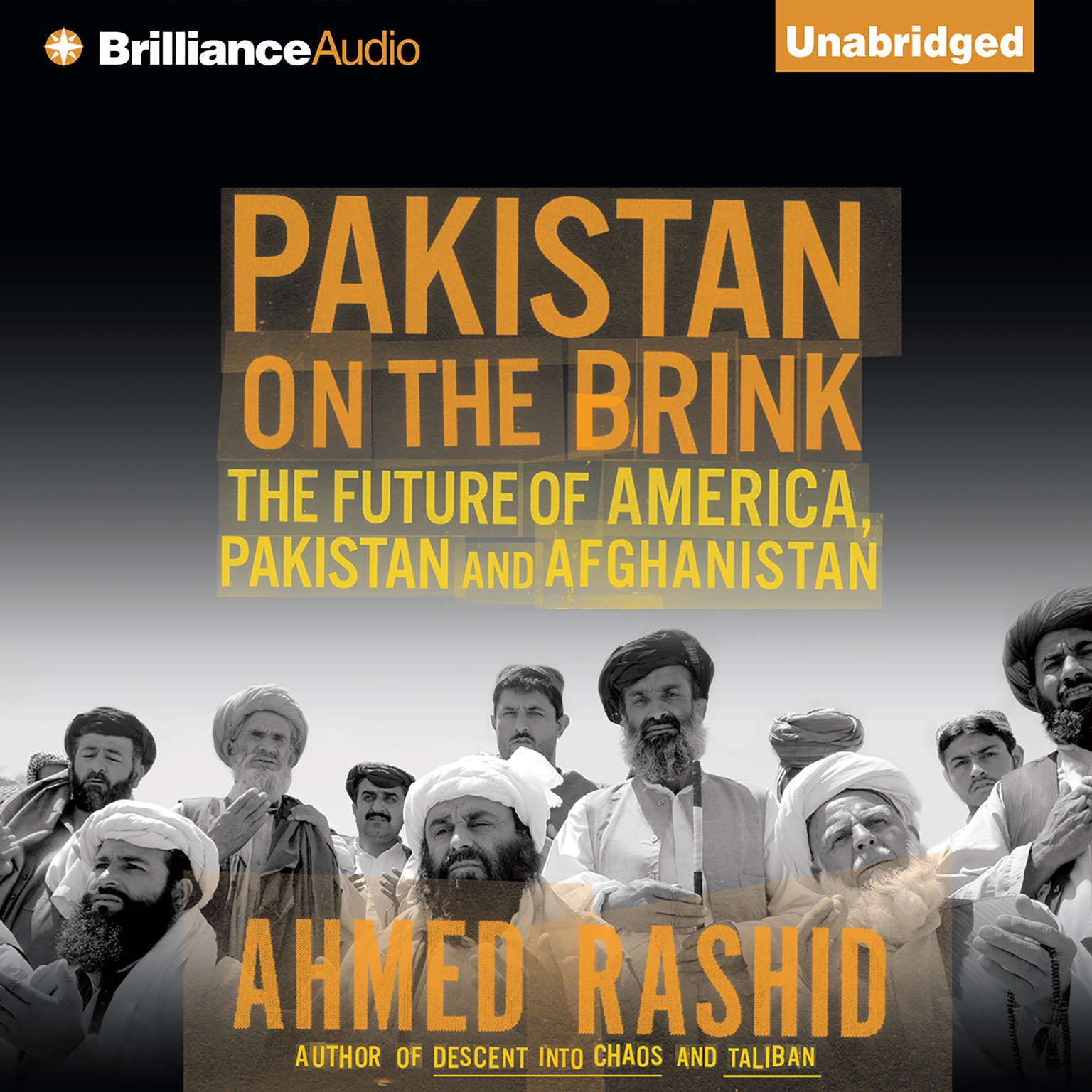 Printable Pakistan on the Brink: The Future of America, Pakistan, and Afghanistan Audiobook Cover Art