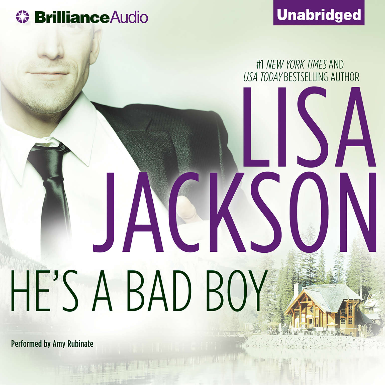 Printable He's a Bad Boy: A Selection from Secrets and Lies Audiobook Cover Art