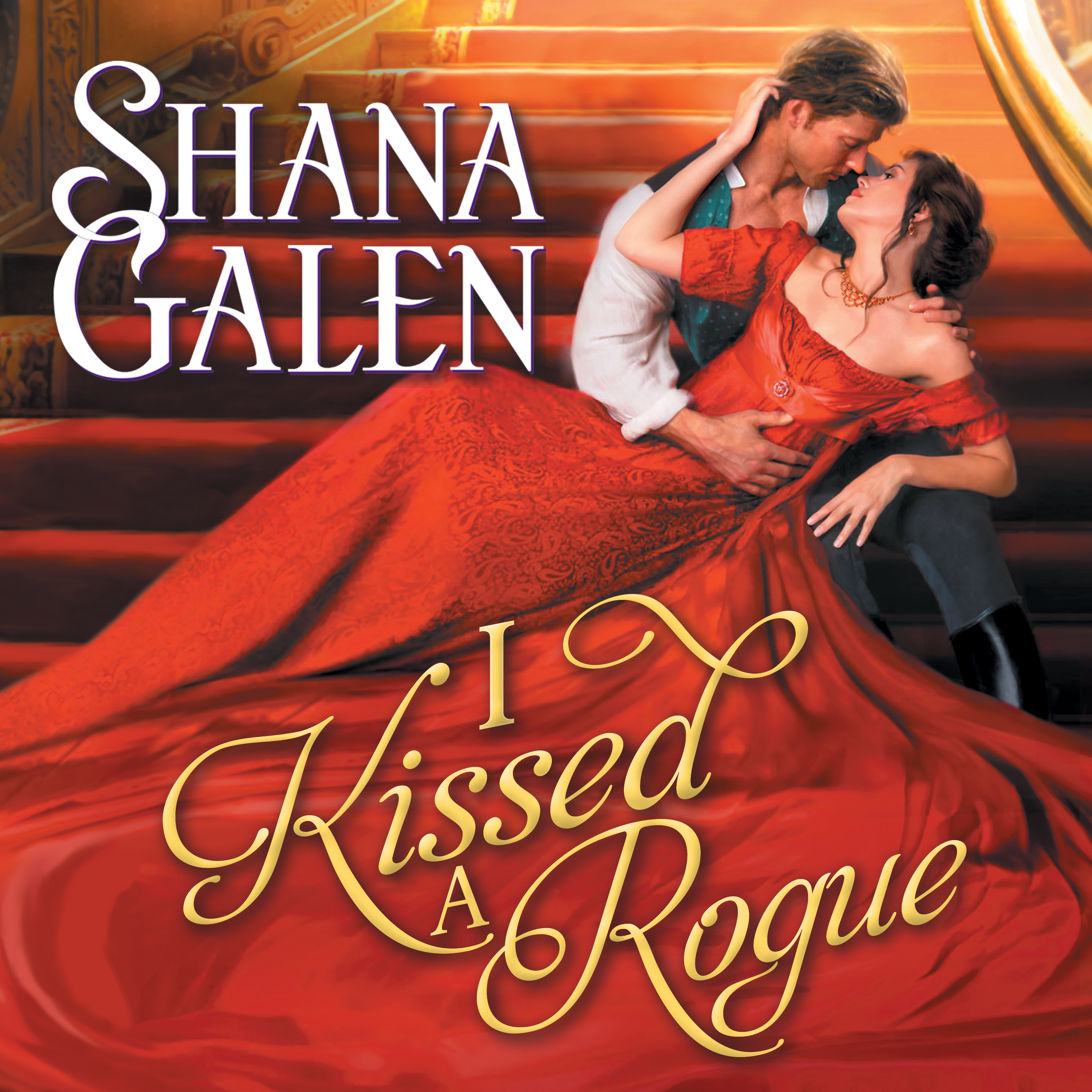 Printable I Kissed a Rogue Audiobook Cover Art