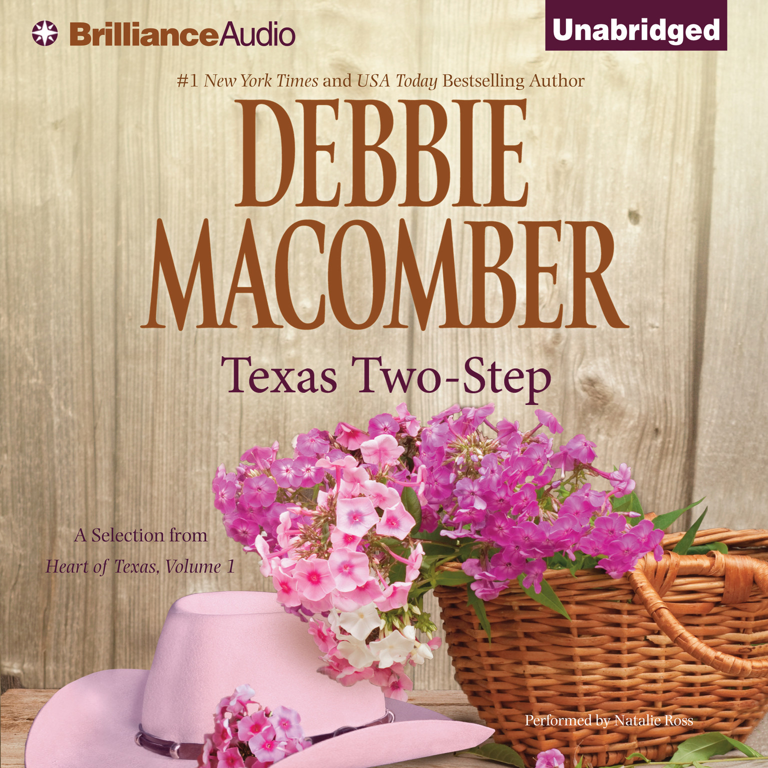 Printable Texas Two-Step: A Selection from Heart of Texas, Volume 1 Audiobook Cover Art