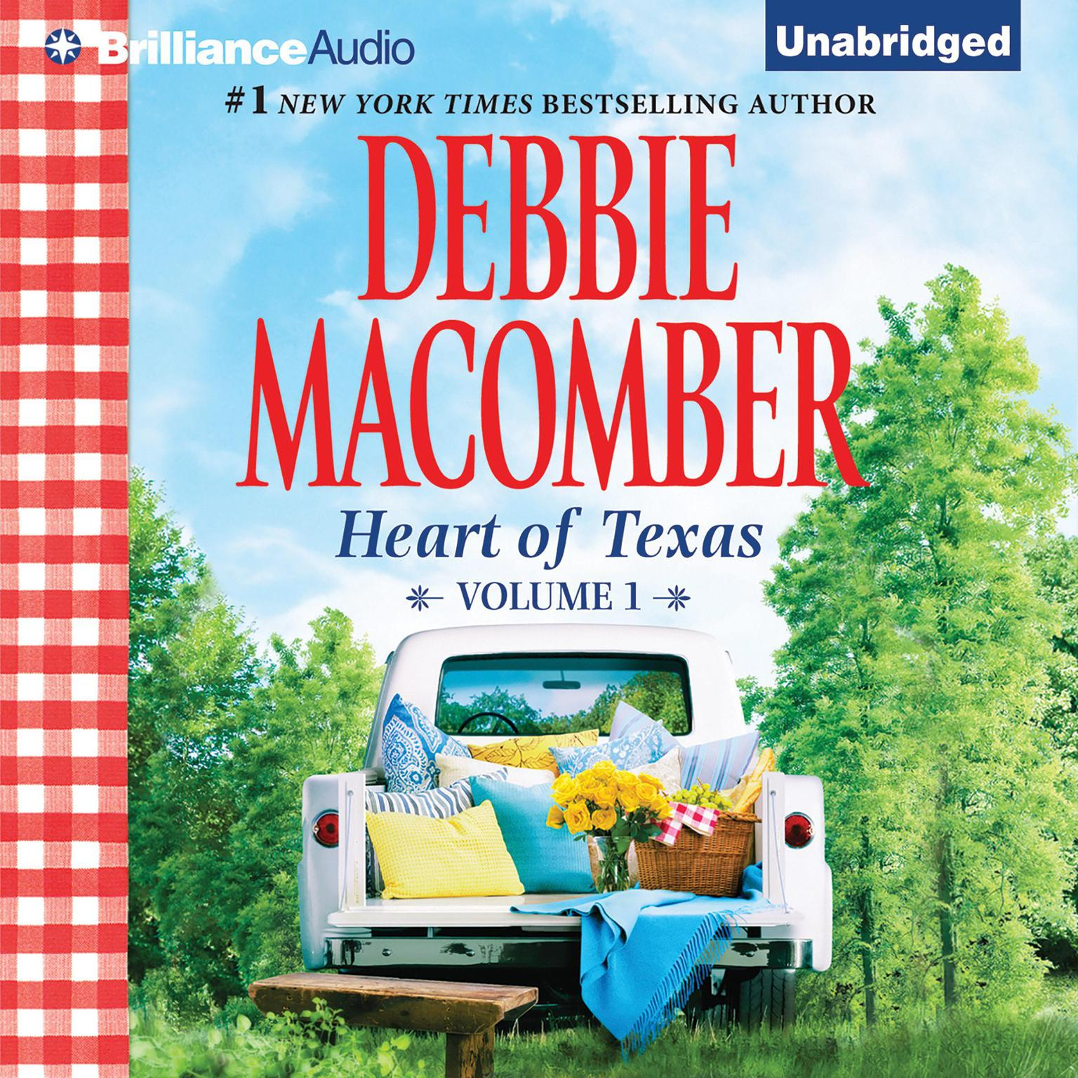 Printable Heart of Texas, Vol. 1: Lonesome Cowboy and Texas Two-Step Audiobook Cover Art