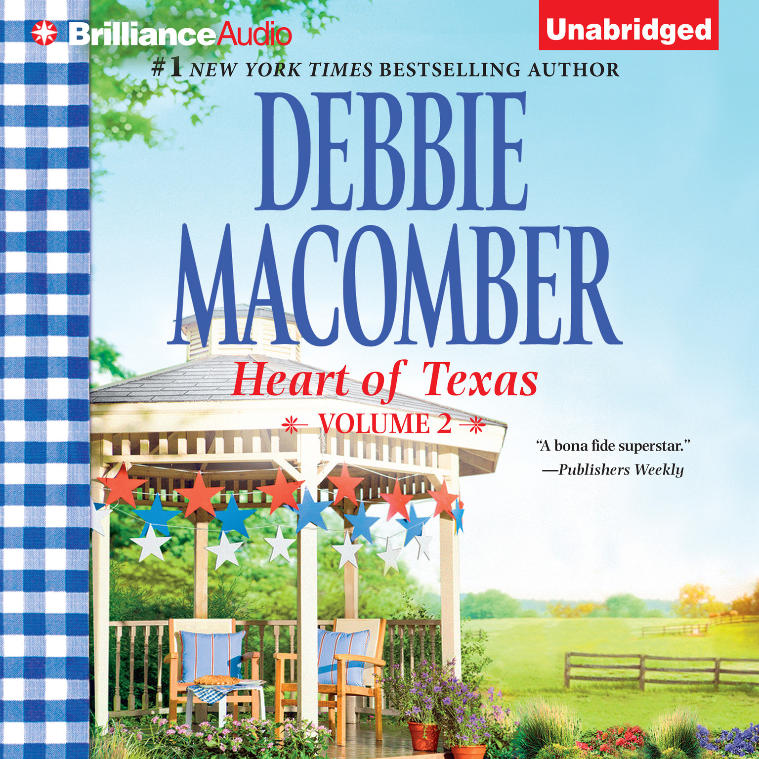 Printable Heart of Texas, Vol. 2: Caroline's Child and Dr. Texas Audiobook Cover Art
