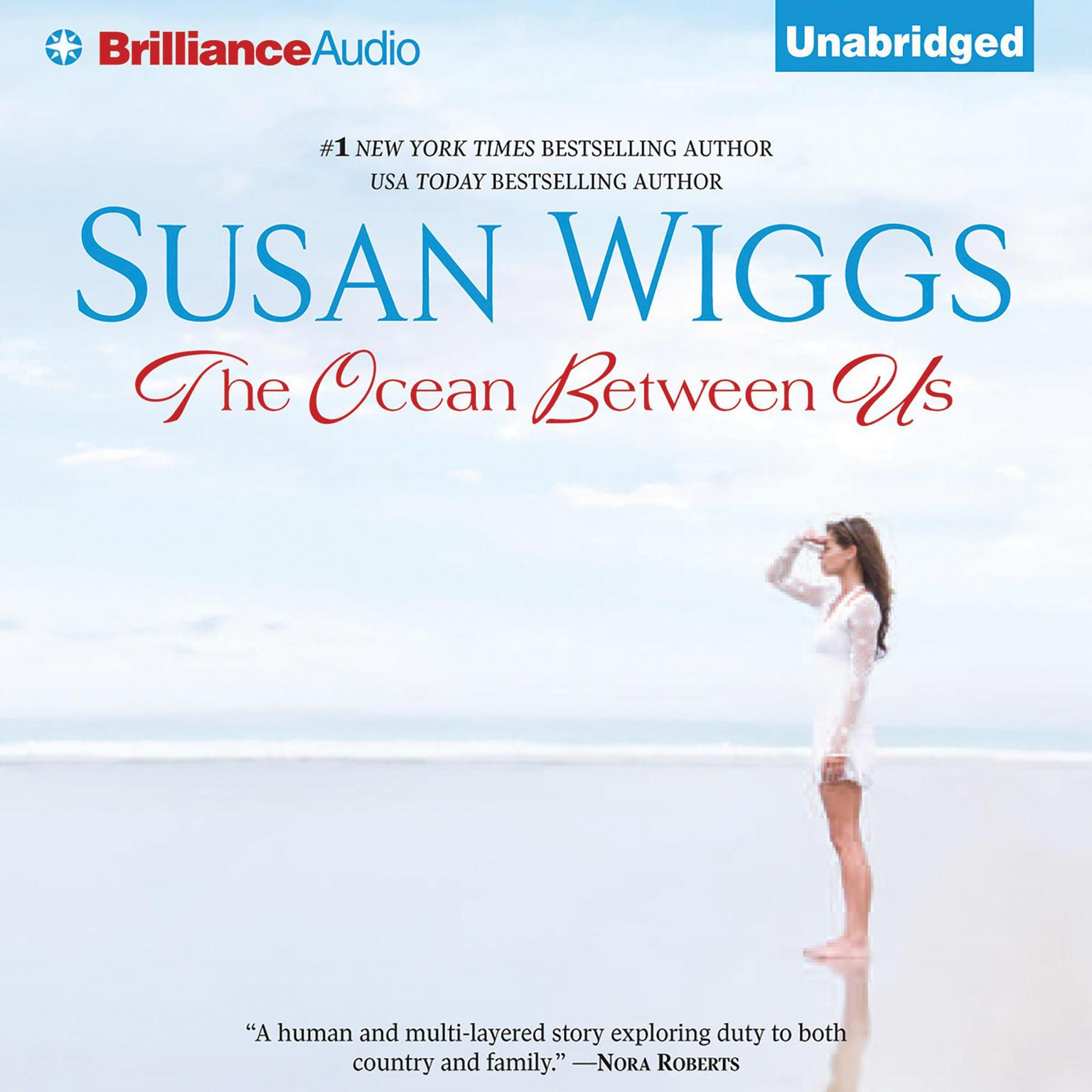 Printable The Ocean Between Us Audiobook Cover Art
