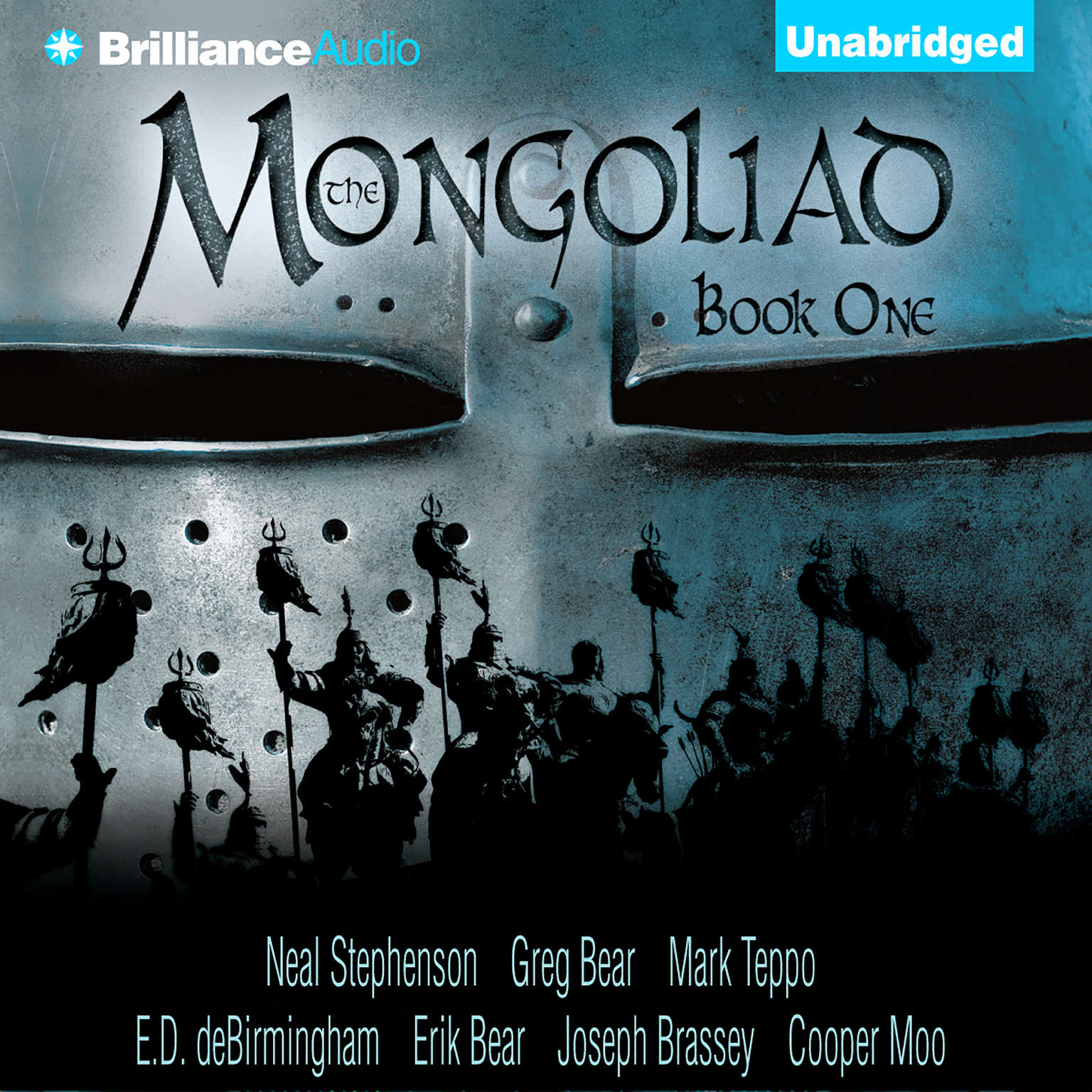 Printable The Mongoliad: Book One Audiobook Cover Art