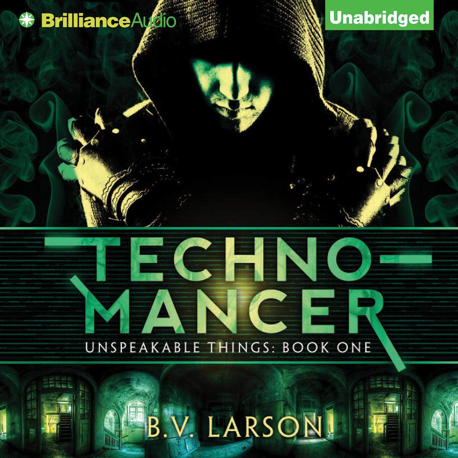 Printable Technomancer Audiobook Cover Art