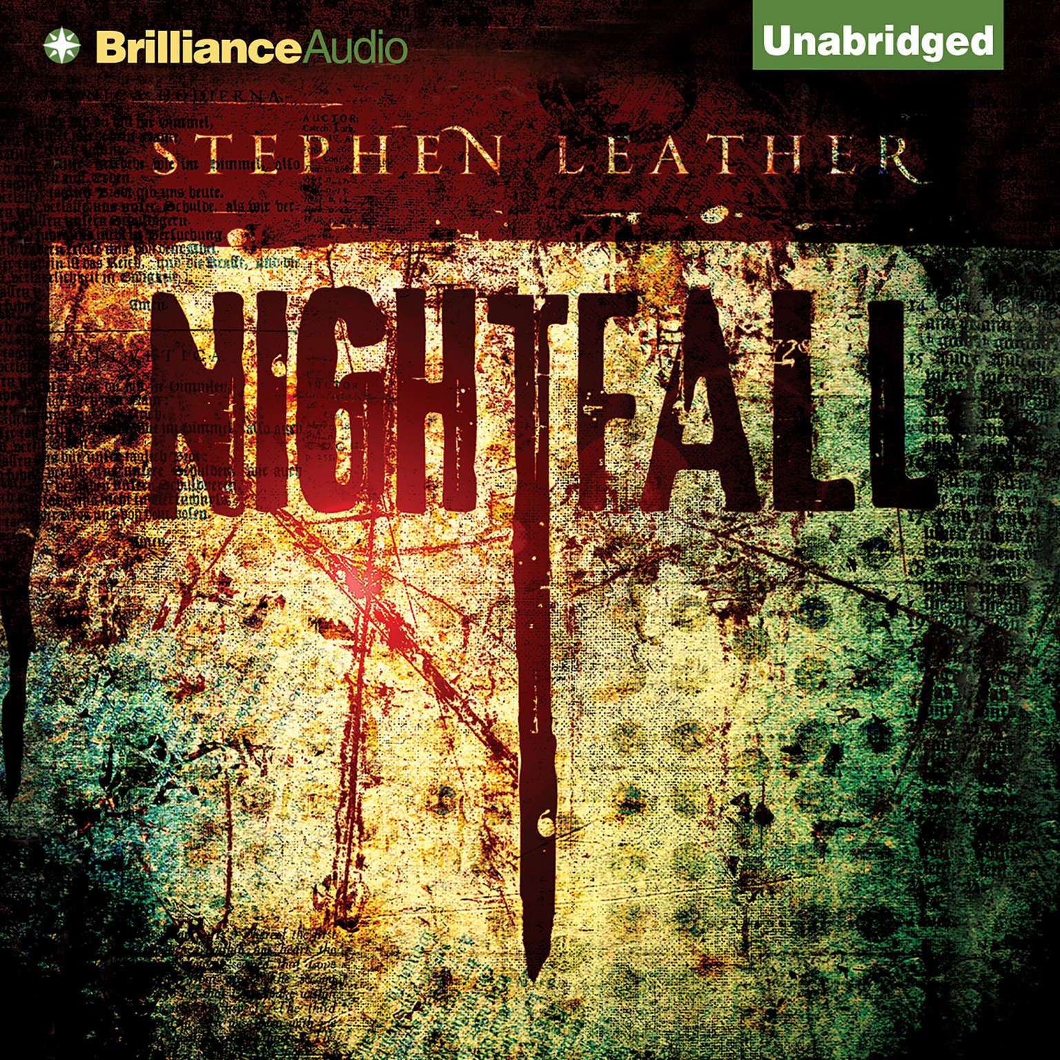 Printable Nightfall Audiobook Cover Art