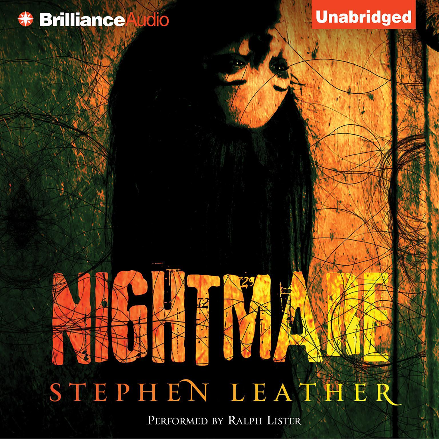 Printable Nightmare Audiobook Cover Art