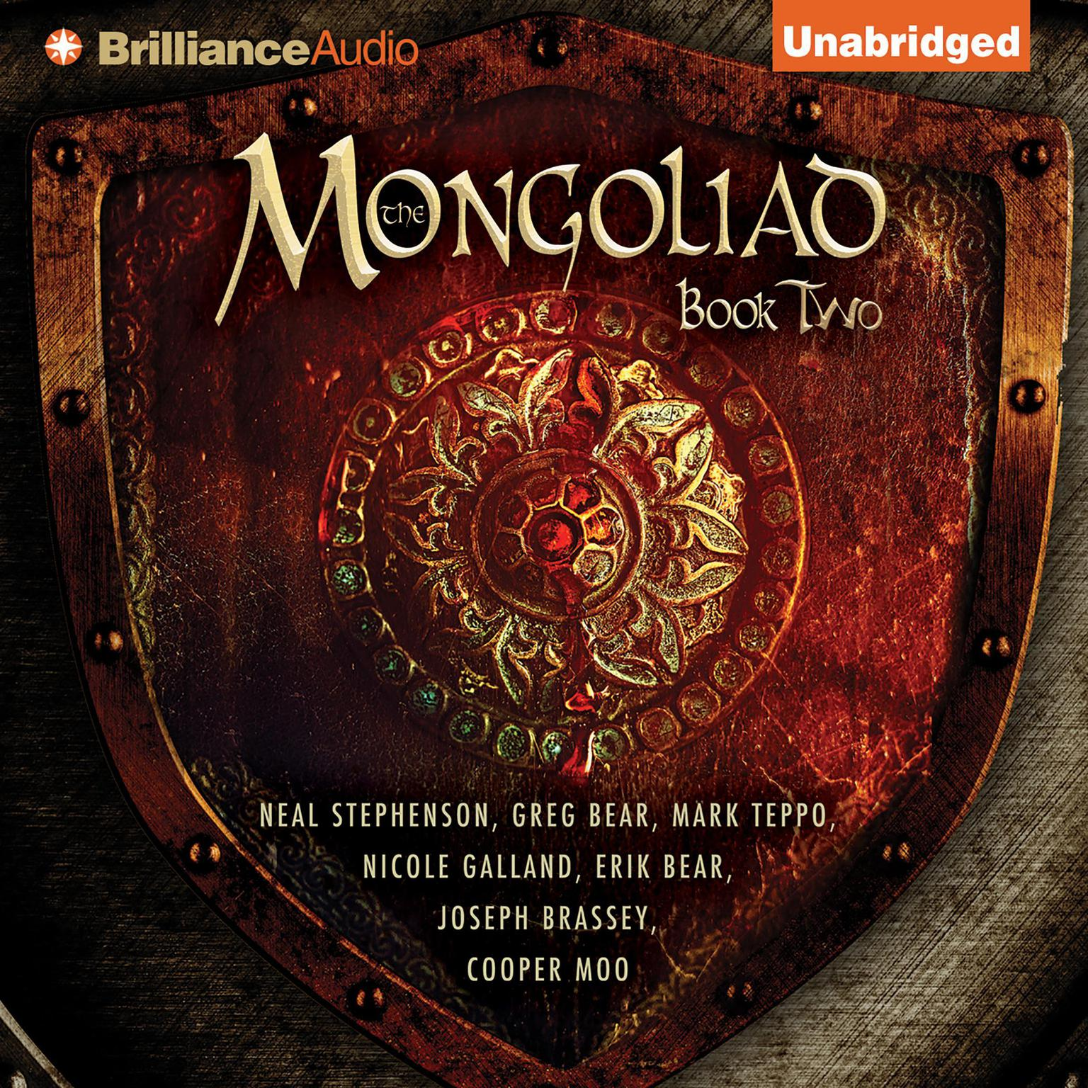 Printable The Mongoliad: Book Two Audiobook Cover Art
