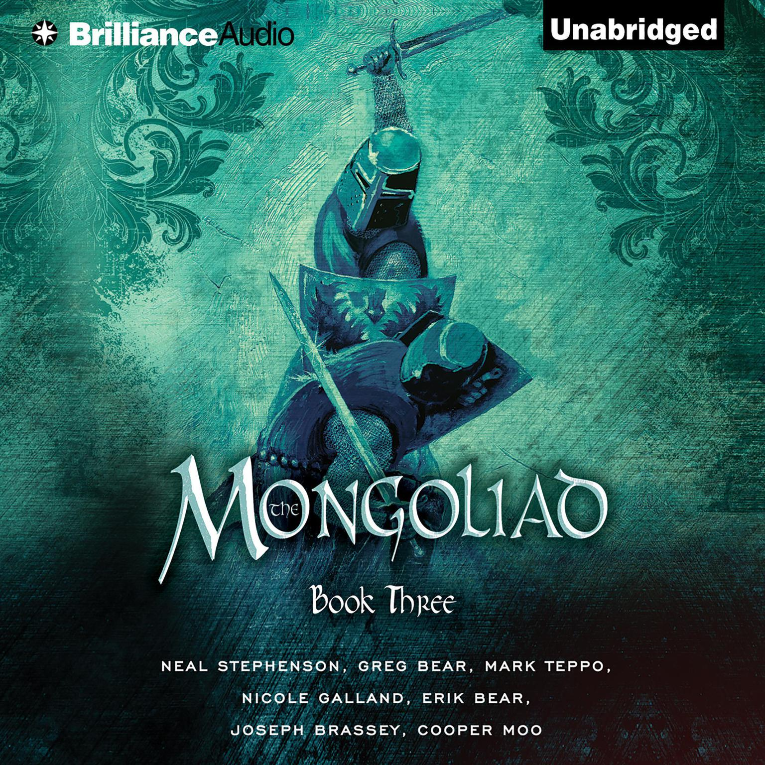 Printable The Mongoliad: Book Three Audiobook Cover Art