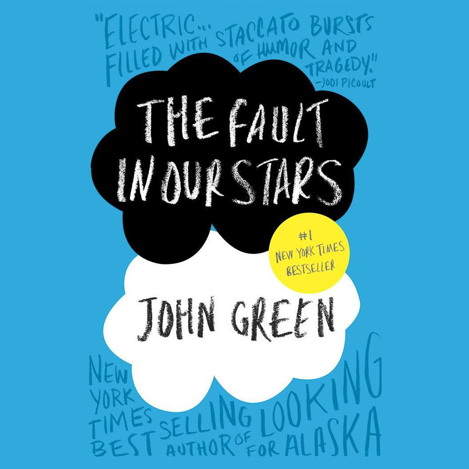 Printable The Fault in Our Stars Audiobook Cover Art