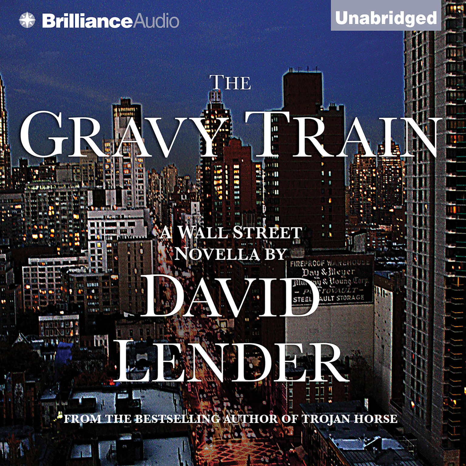Printable The Gravy Train Audiobook Cover Art