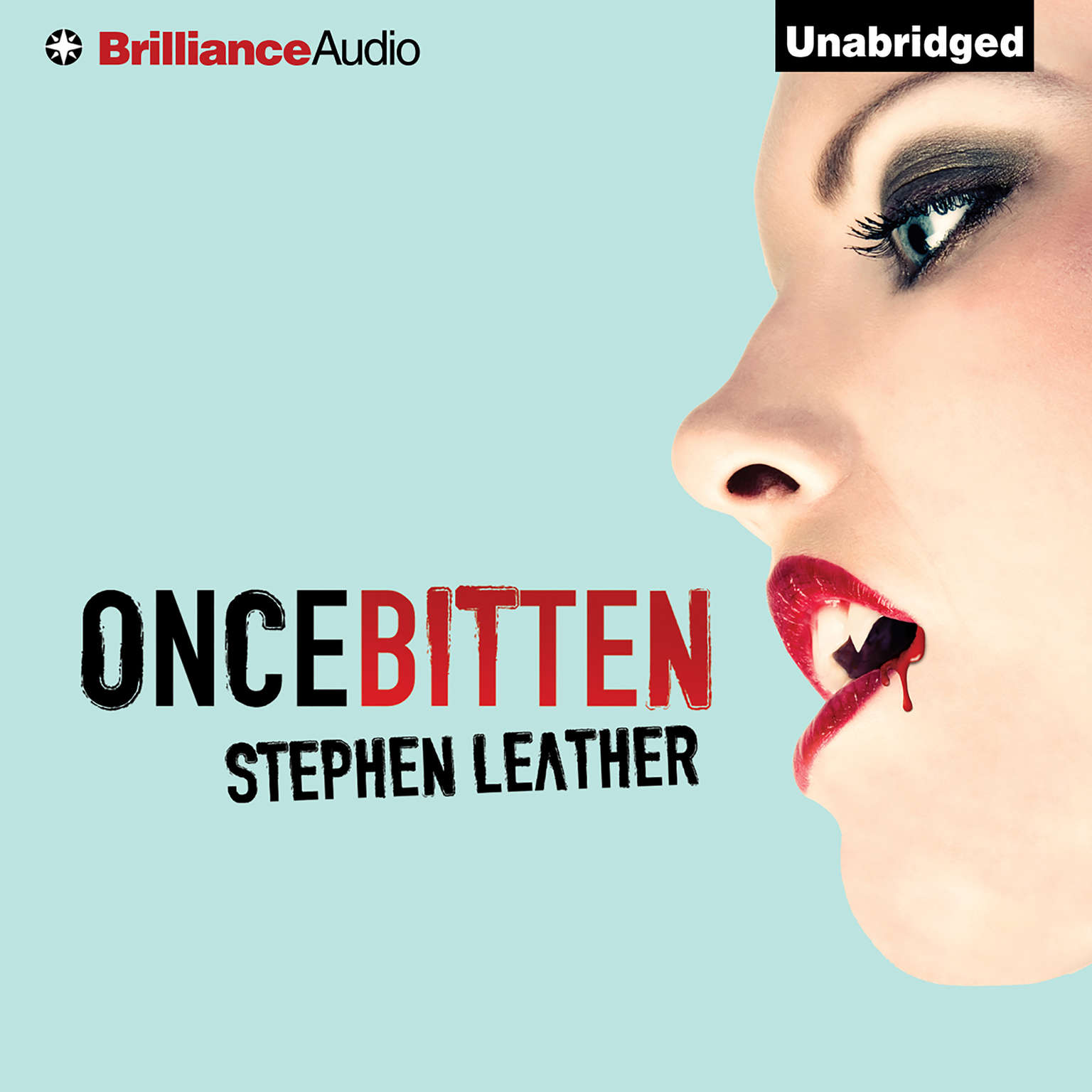 Printable Once Bitten Audiobook Cover Art