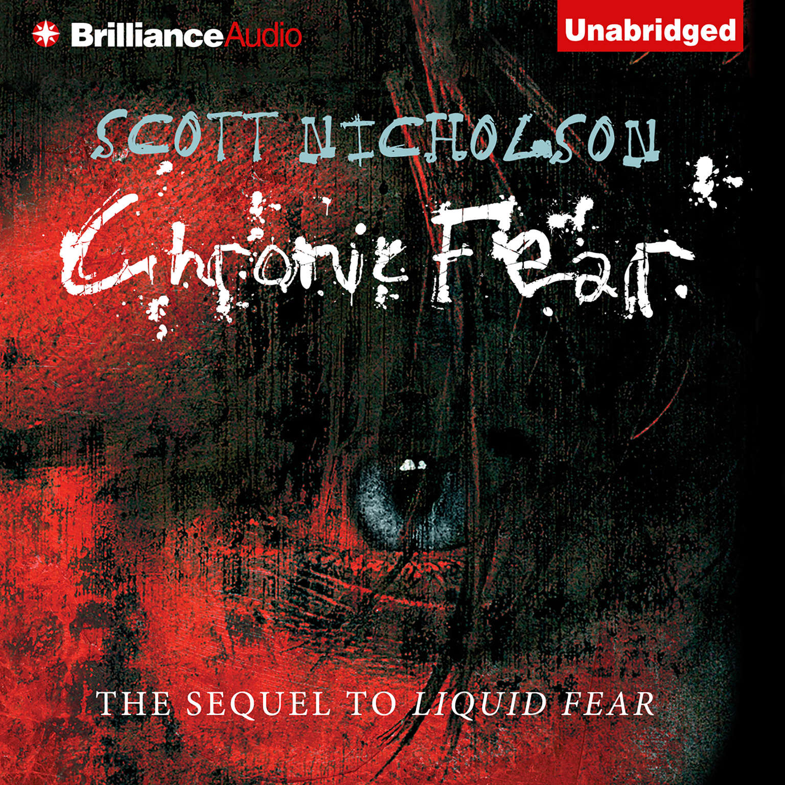 Printable Chronic Fear Audiobook Cover Art