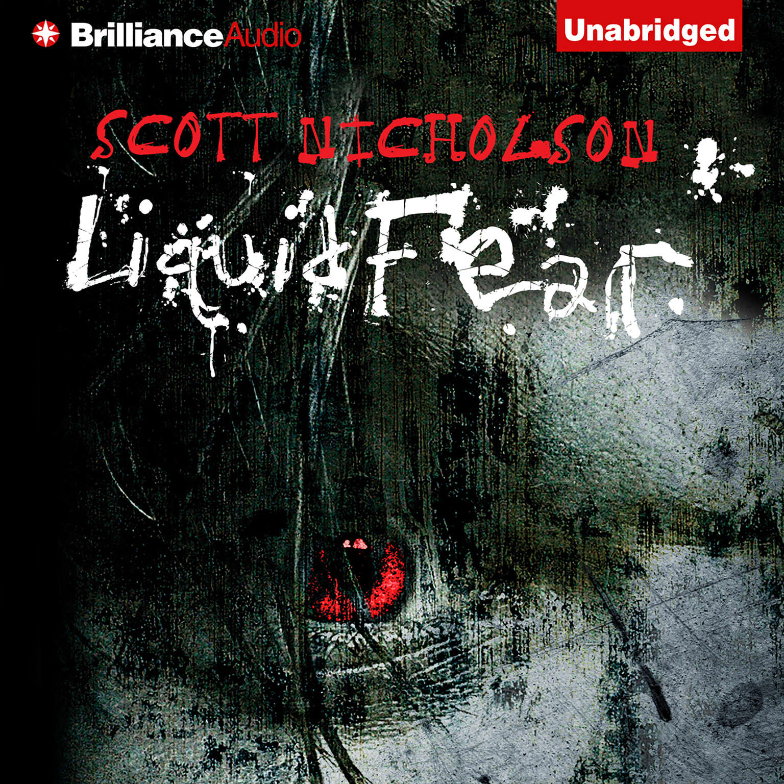 Printable Liquid Fear Audiobook Cover Art