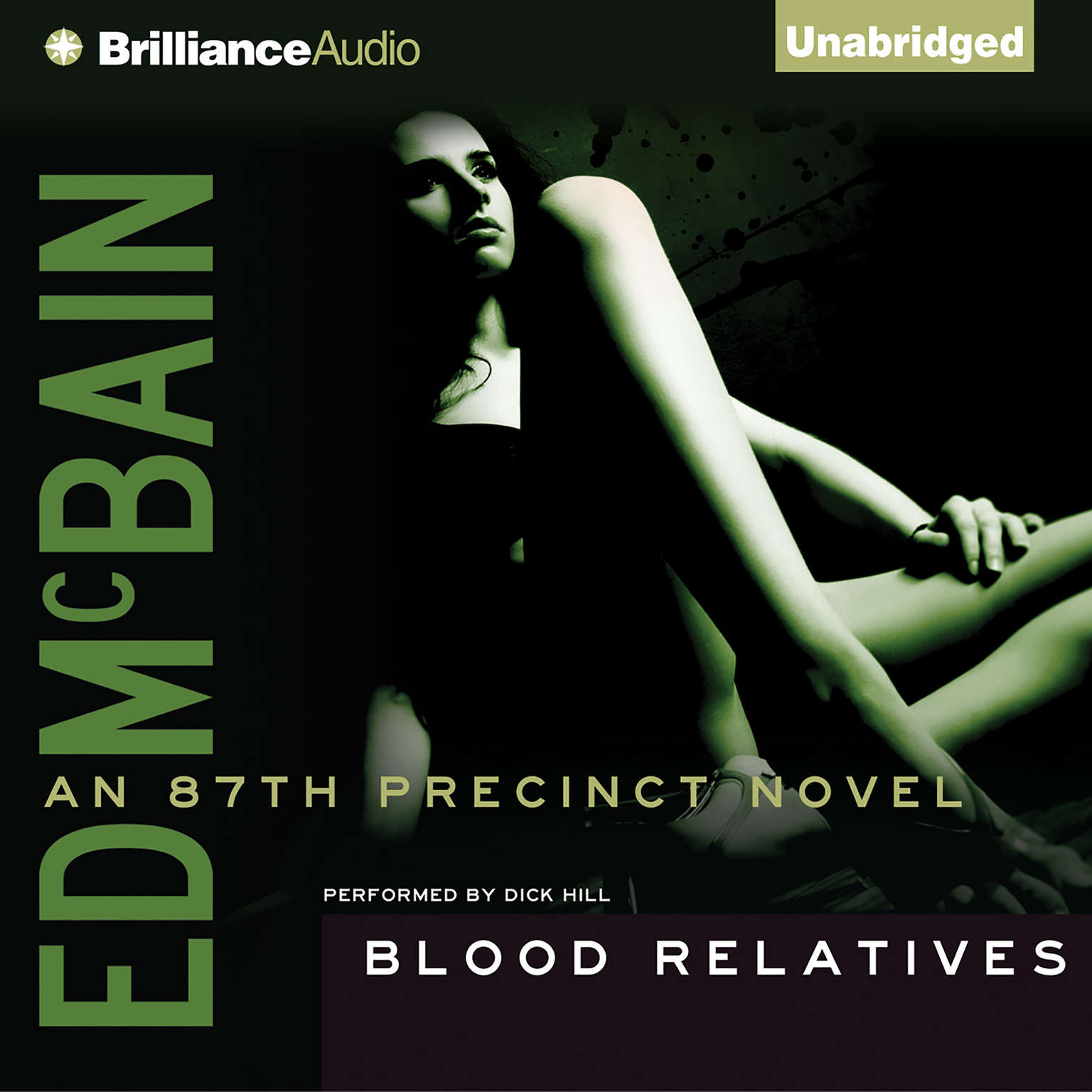 Printable Blood Relatives Audiobook Cover Art