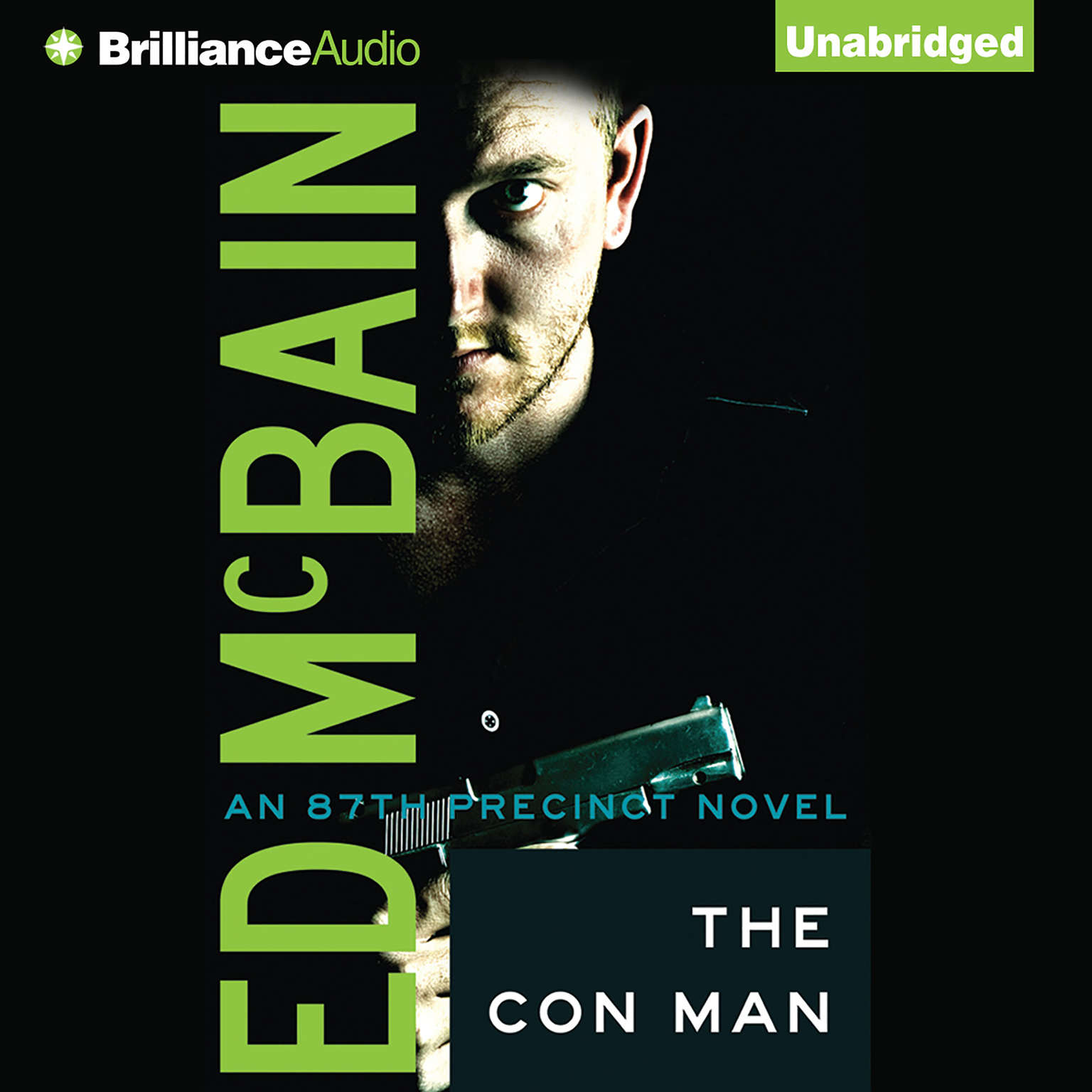 Printable The Con Man Audiobook Cover Art