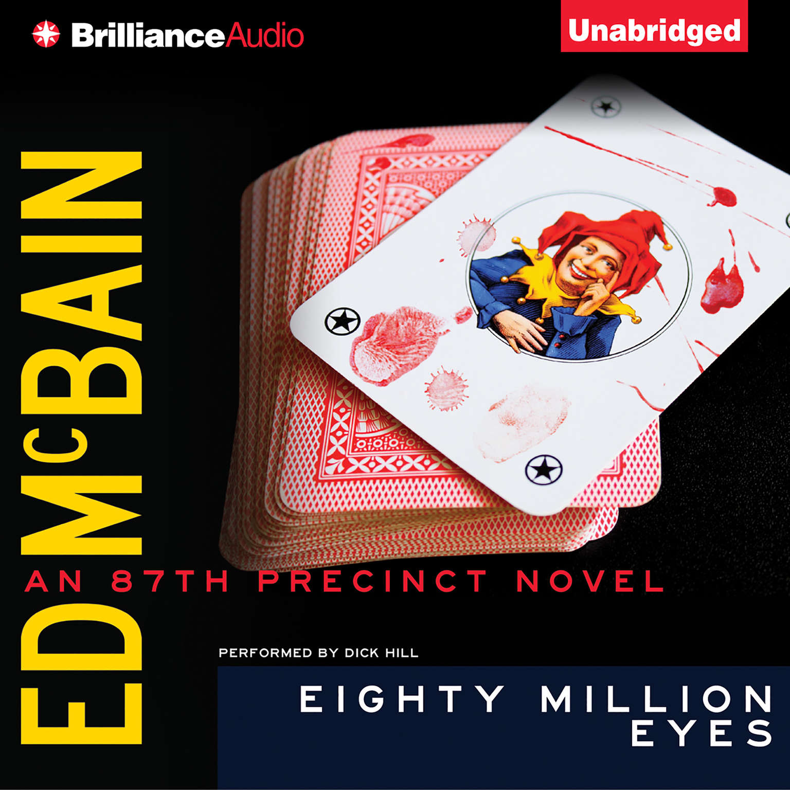 Printable Eighty Million Eyes Audiobook Cover Art
