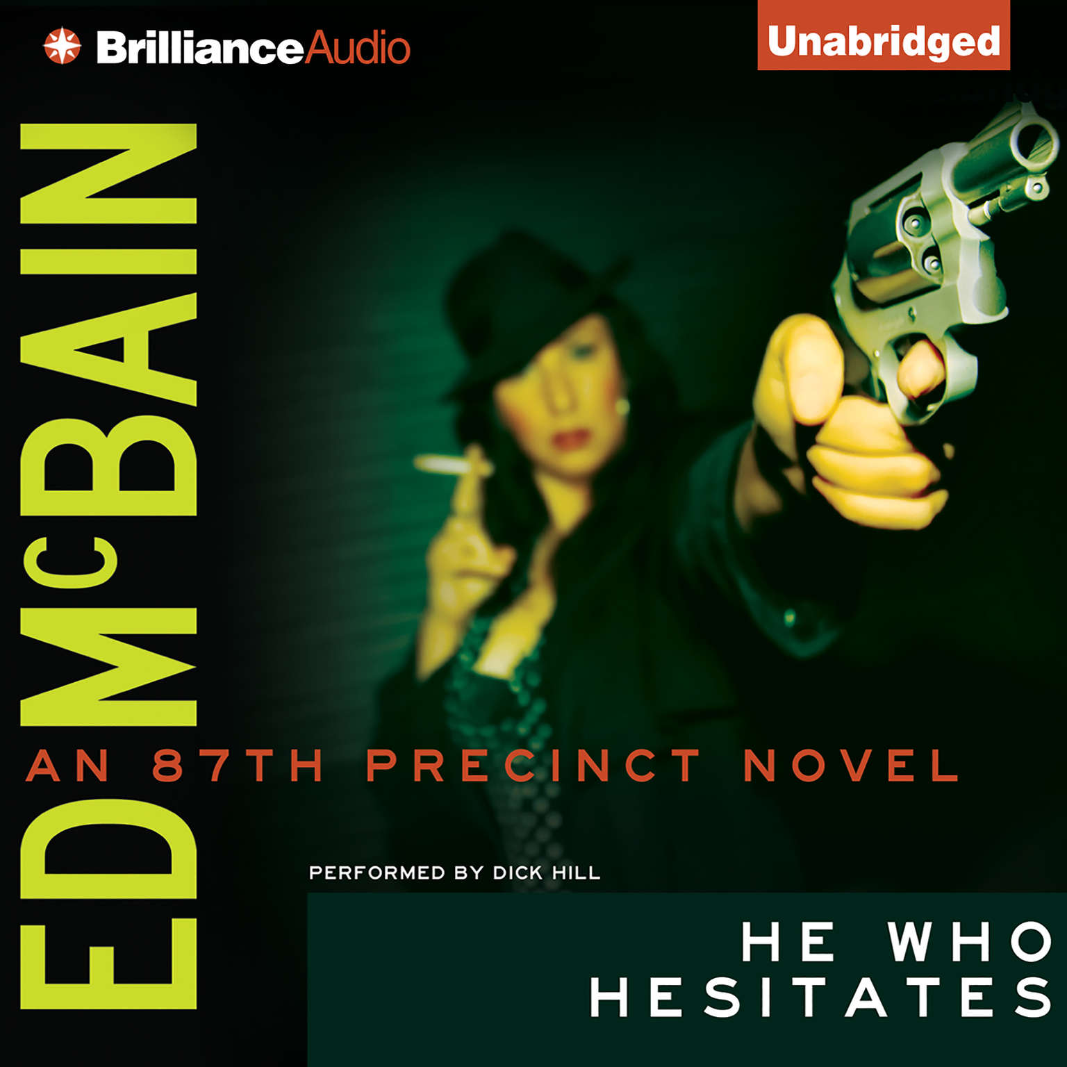 Printable He Who Hesitates Audiobook Cover Art