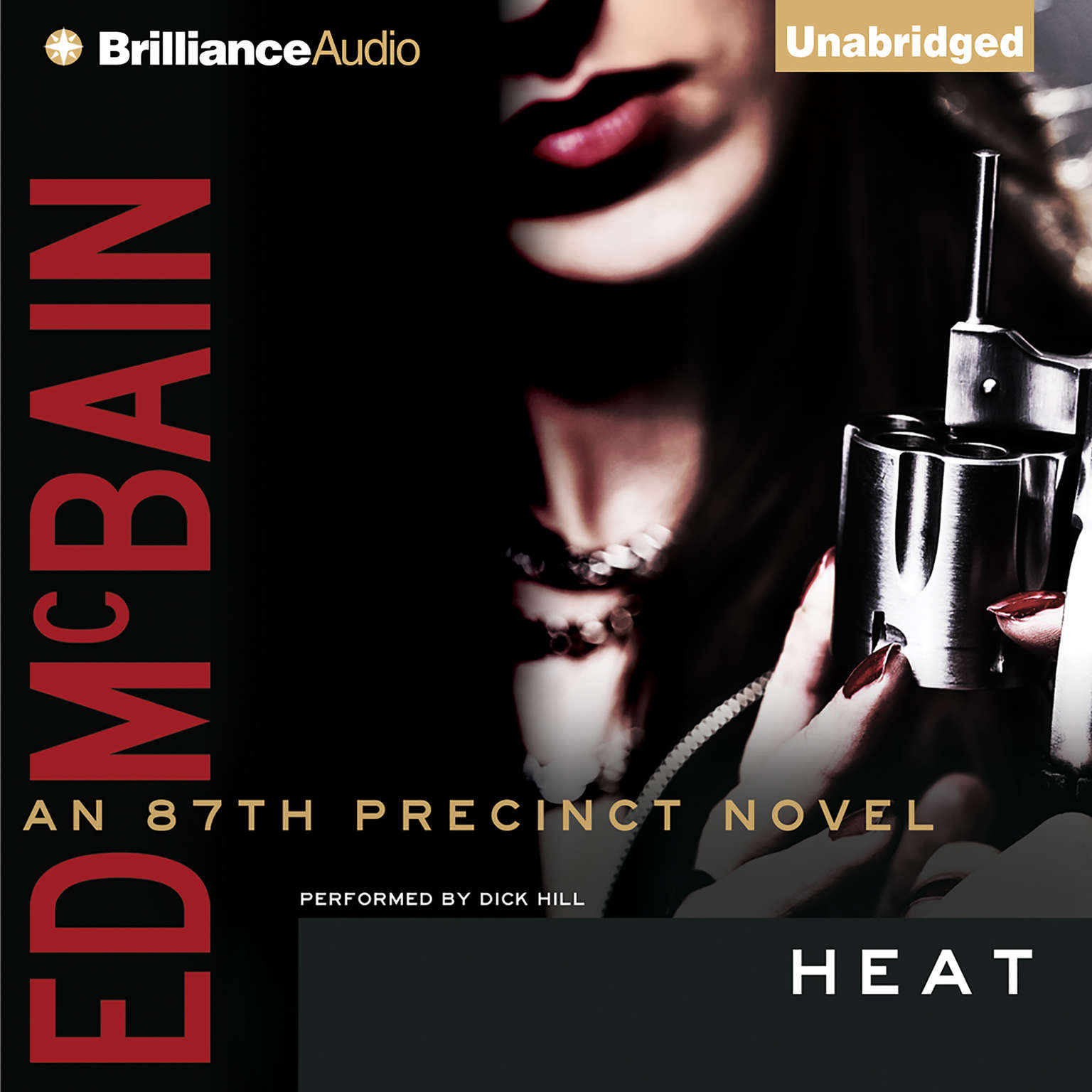 Printable Heat Audiobook Cover Art