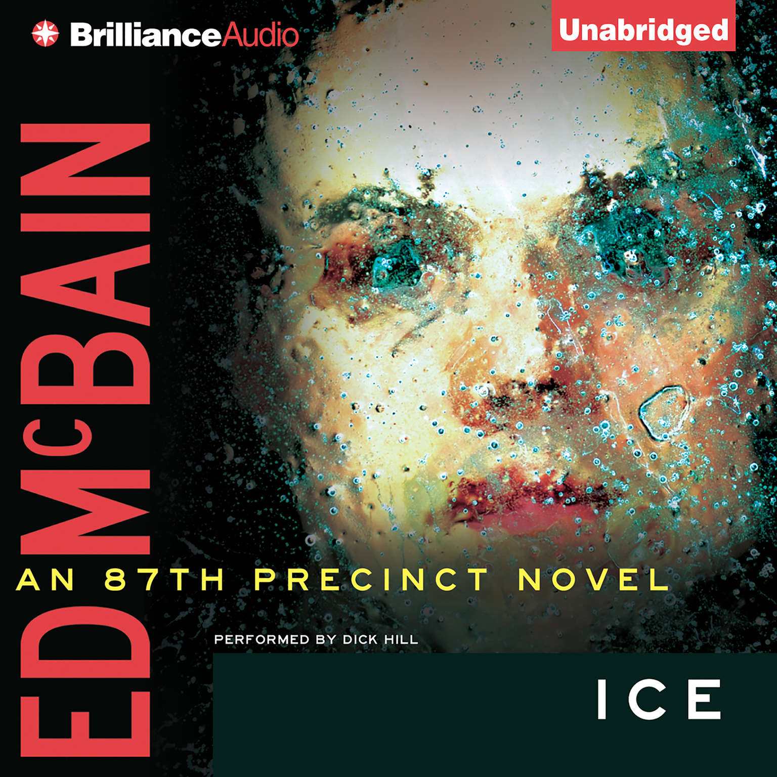 Printable Ice Audiobook Cover Art
