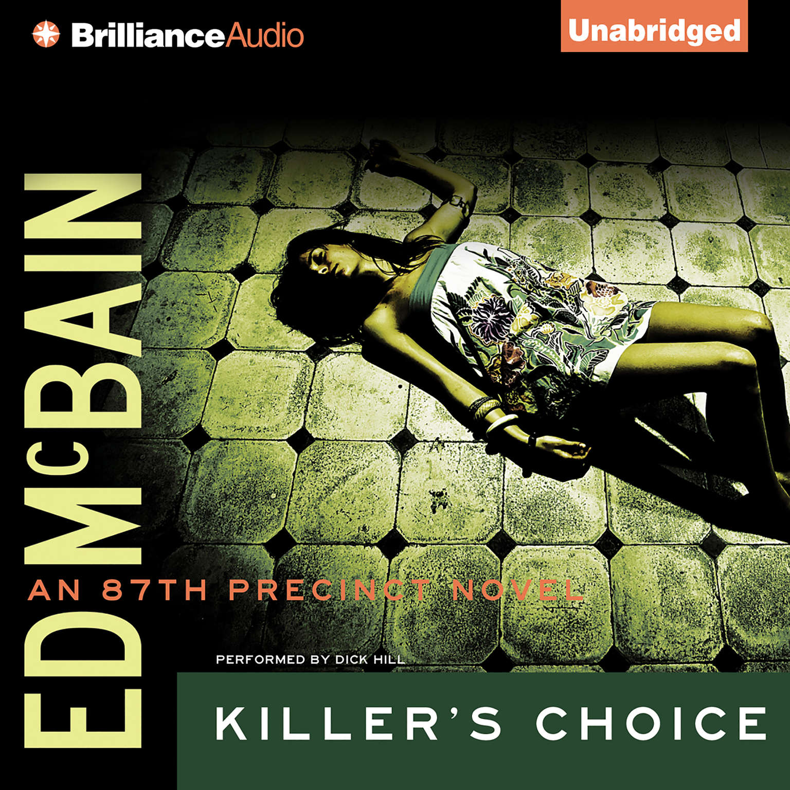 Printable Killer's Choice Audiobook Cover Art