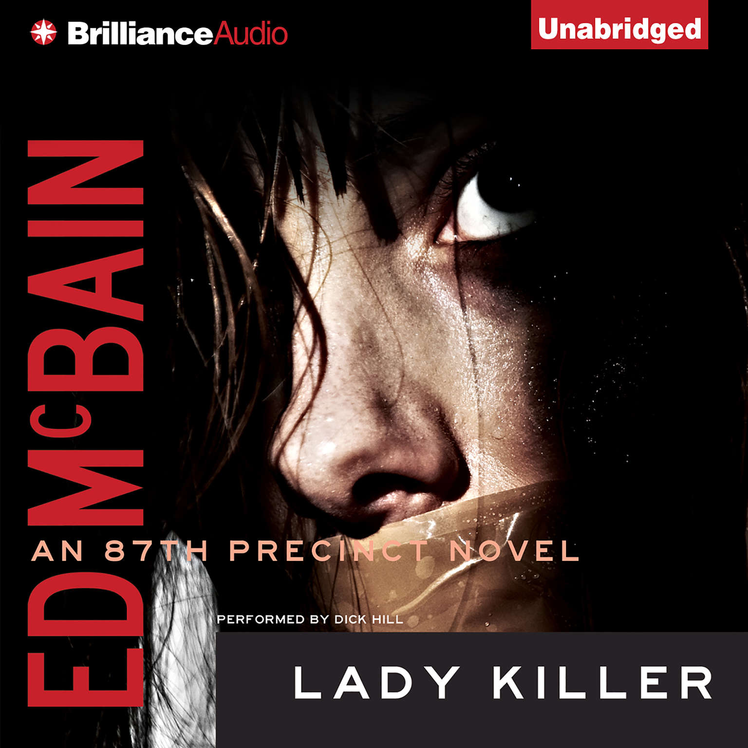 Printable Lady Killer Audiobook Cover Art
